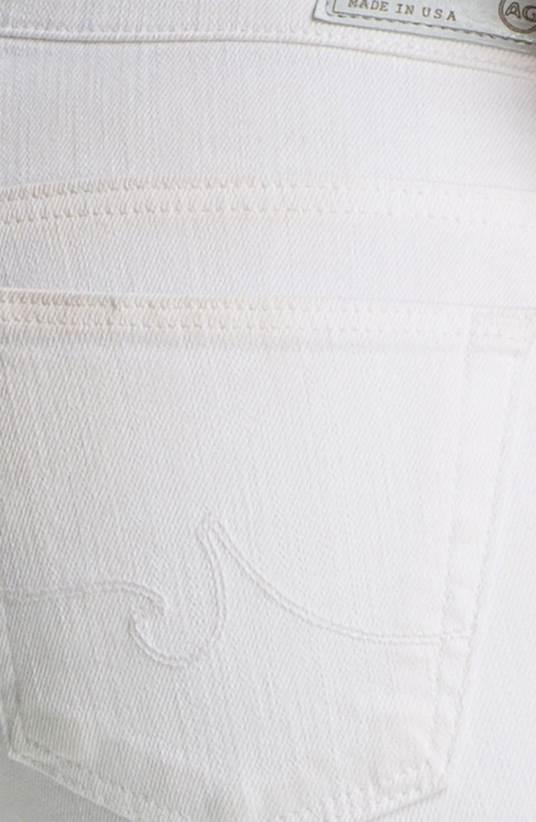 AG, Jeans 'Stilt' Cigarette Leg Stretch Jeans, Alternate thumbnail 4, color, 100