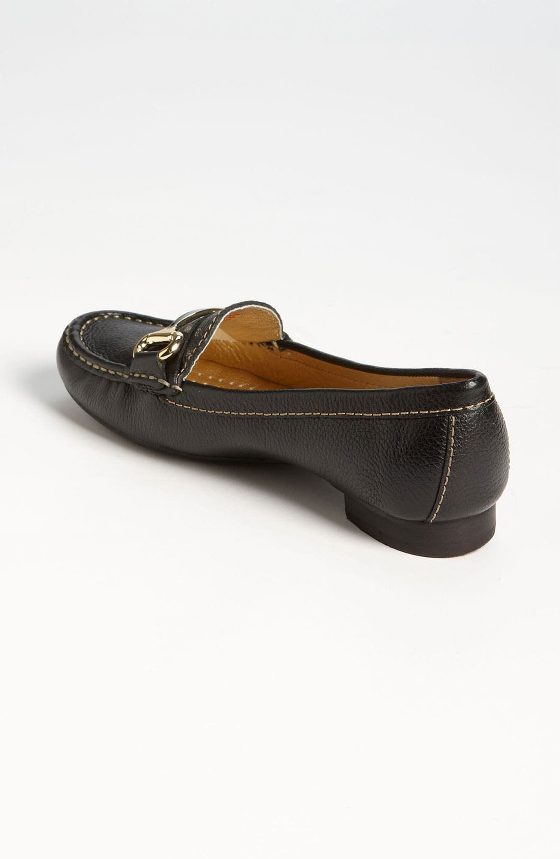 MARC JOSEPH NEW YORK, 'Grand St.' Loafer, Alternate thumbnail 3, color, BLACK GRAINY
