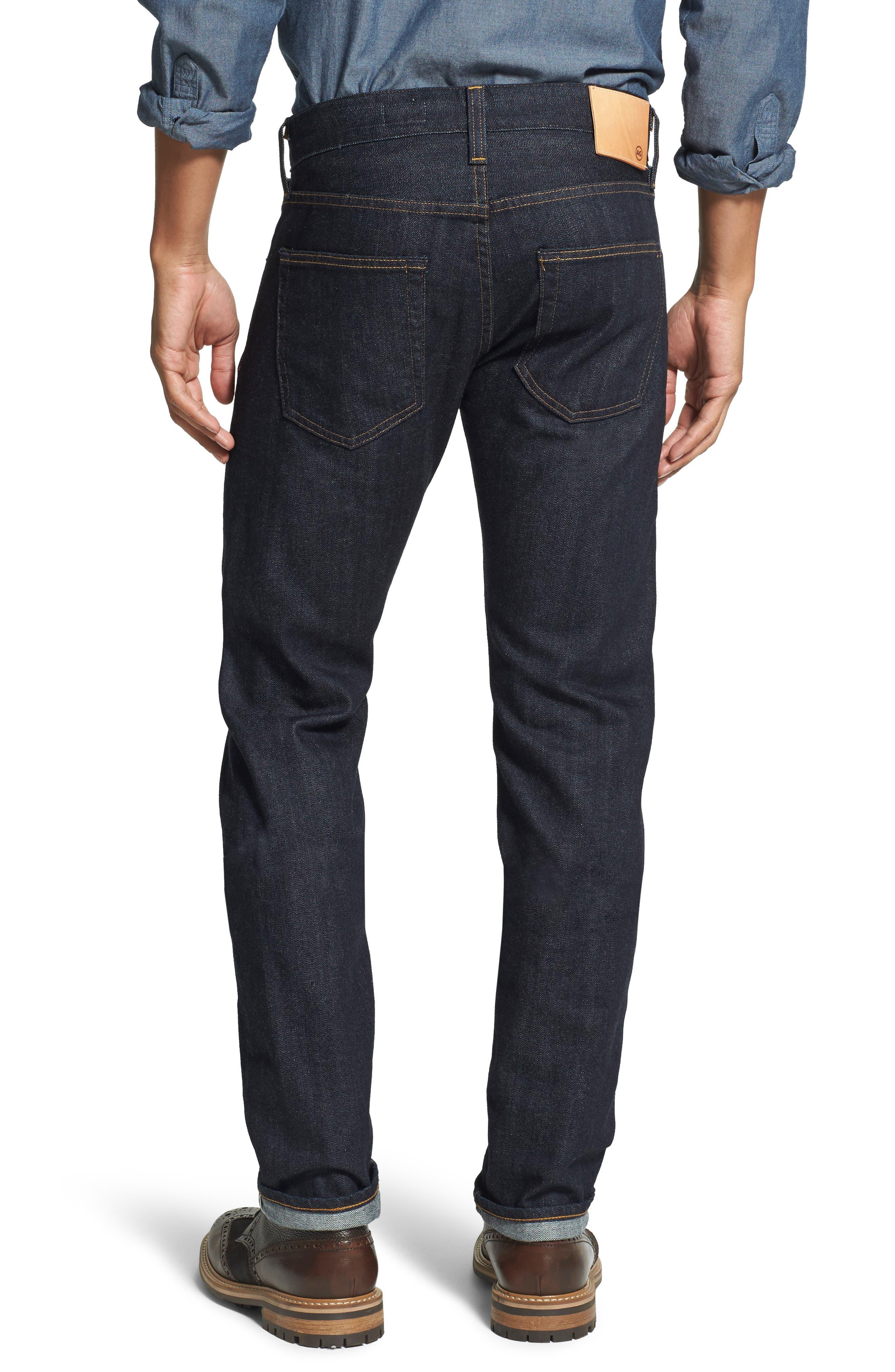 AG, Tellis Slim Fit Jeans, Alternate thumbnail 2, color, ALPHA