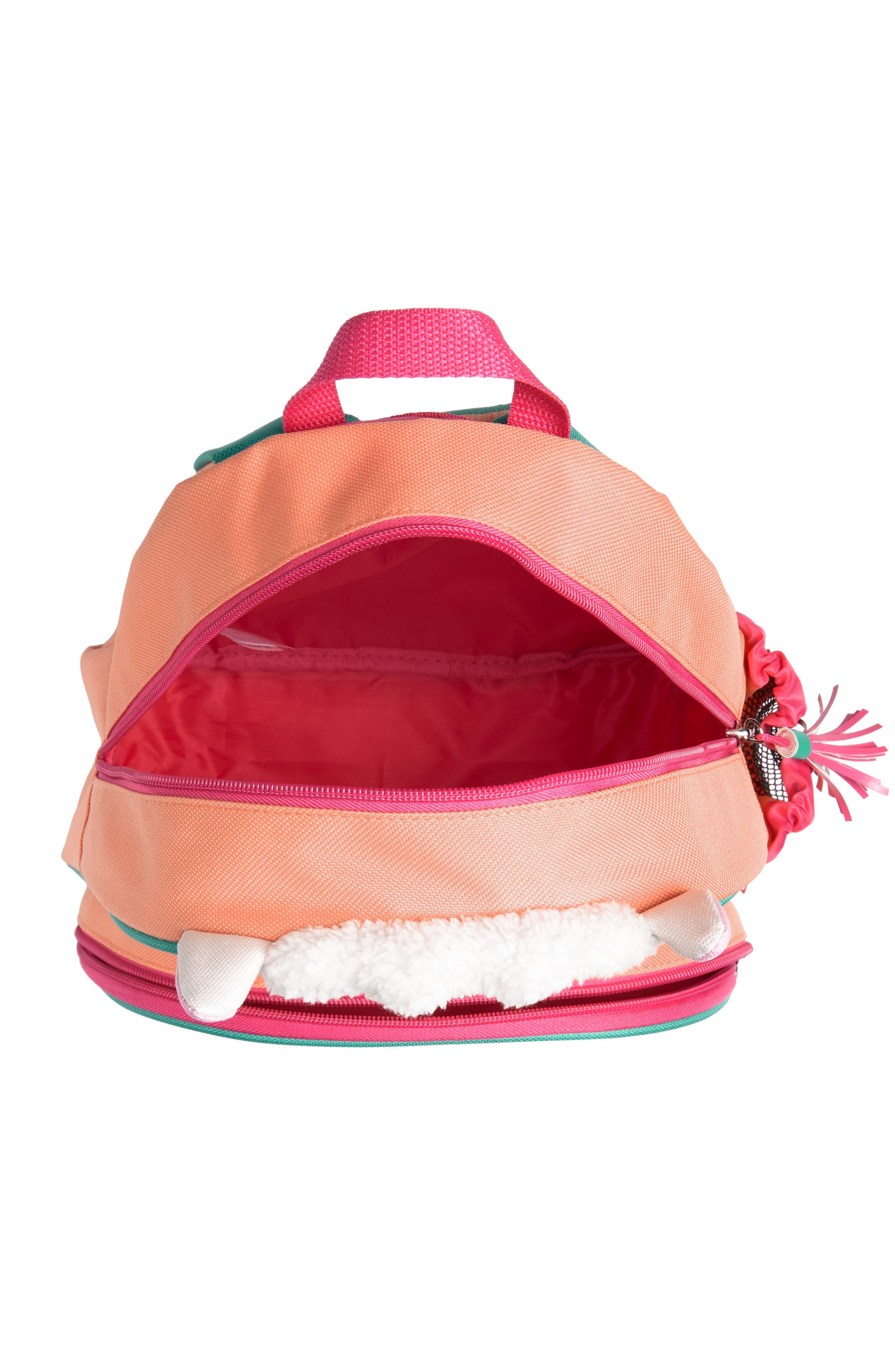 SKIP HOP, Zoo Pack Llama Backpack, Alternate thumbnail 3, color, PINK MULTI