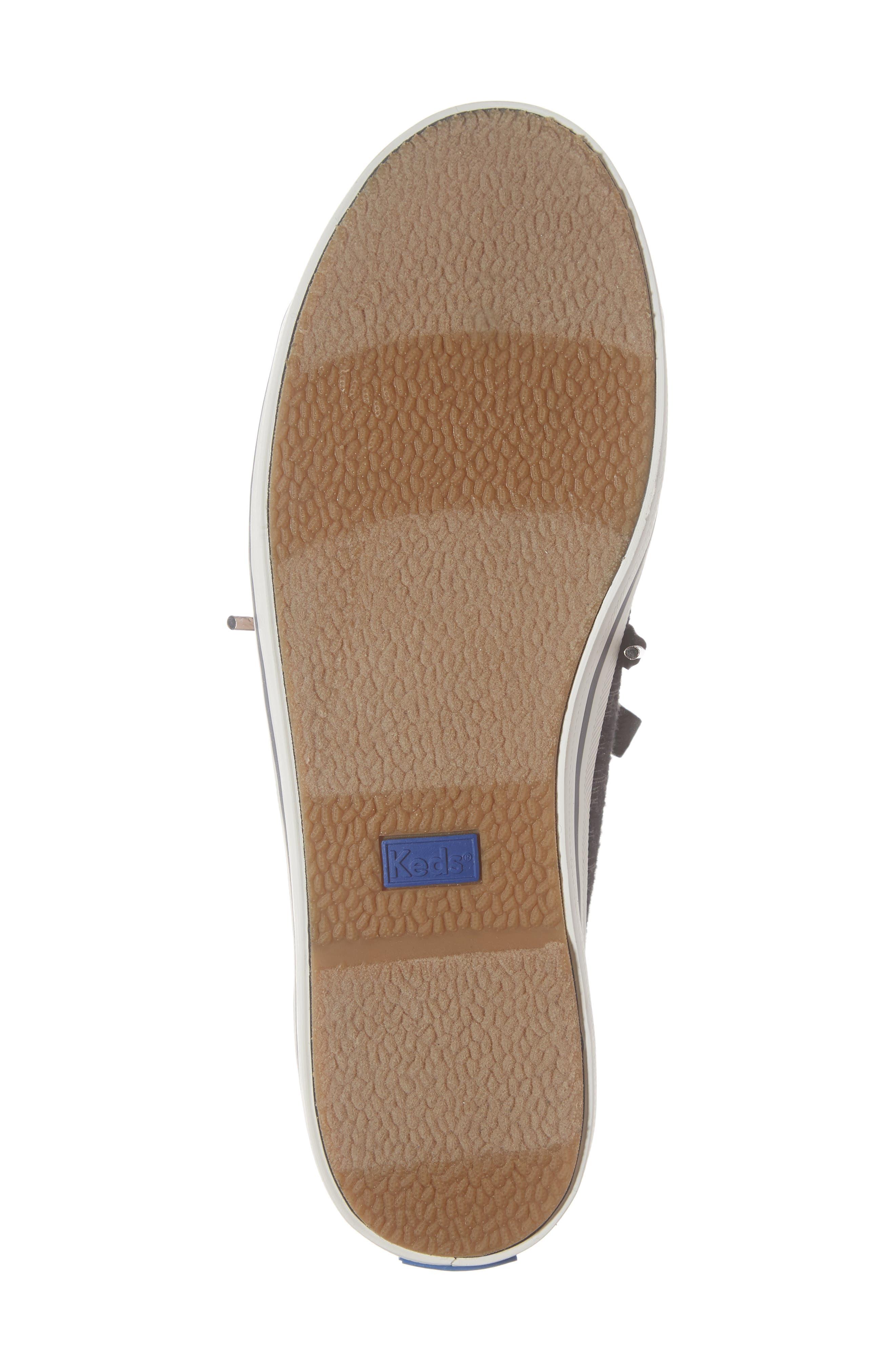 KEDS<SUP>®</SUP>, Kickstart Sneaker, Alternate thumbnail 6, color, BLACK HOUNDSTOOTH