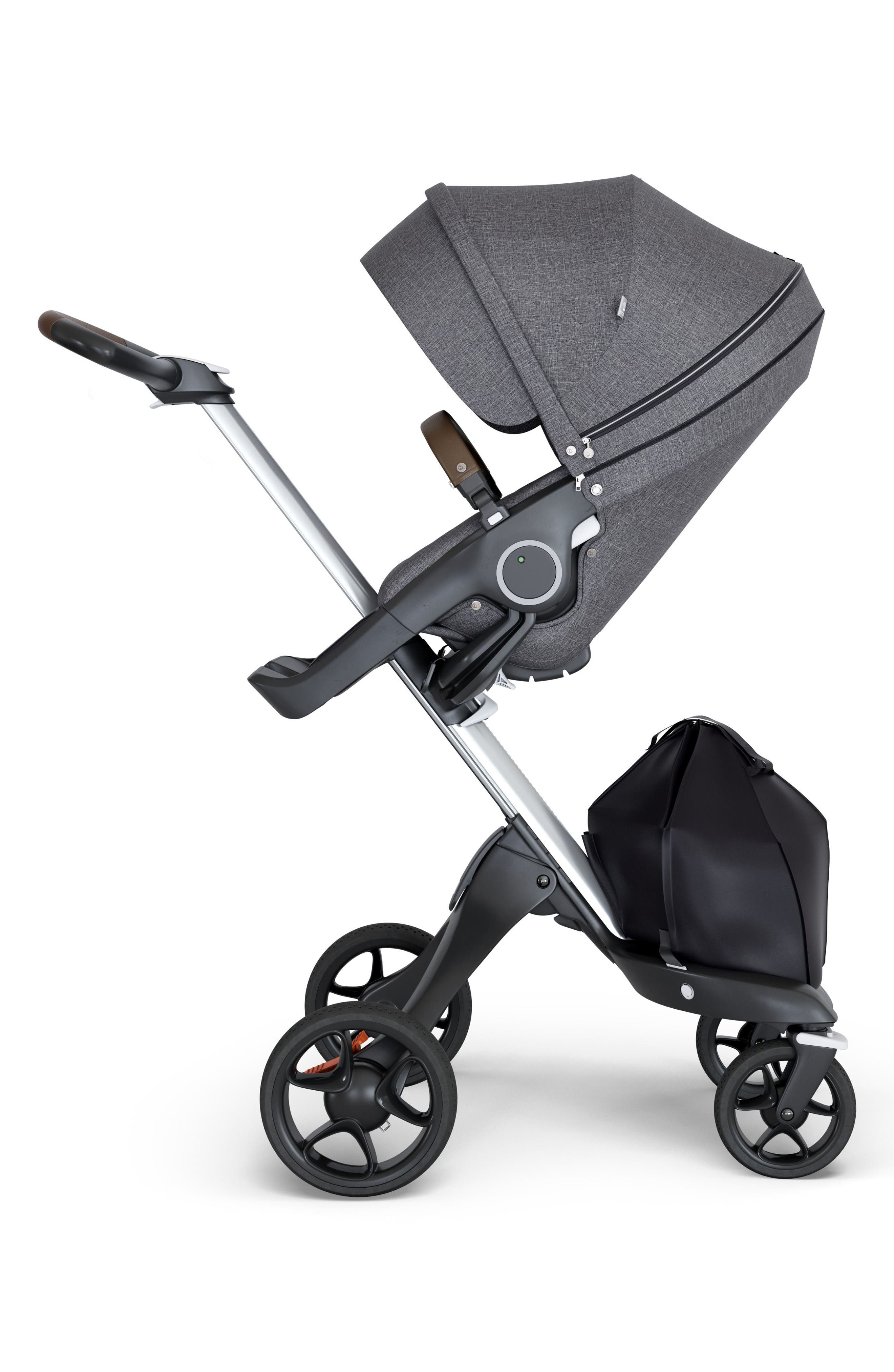 STOKKE, Xplory<sup>®</sup> Silver Chassis Stroller, Main thumbnail 1, color, 001