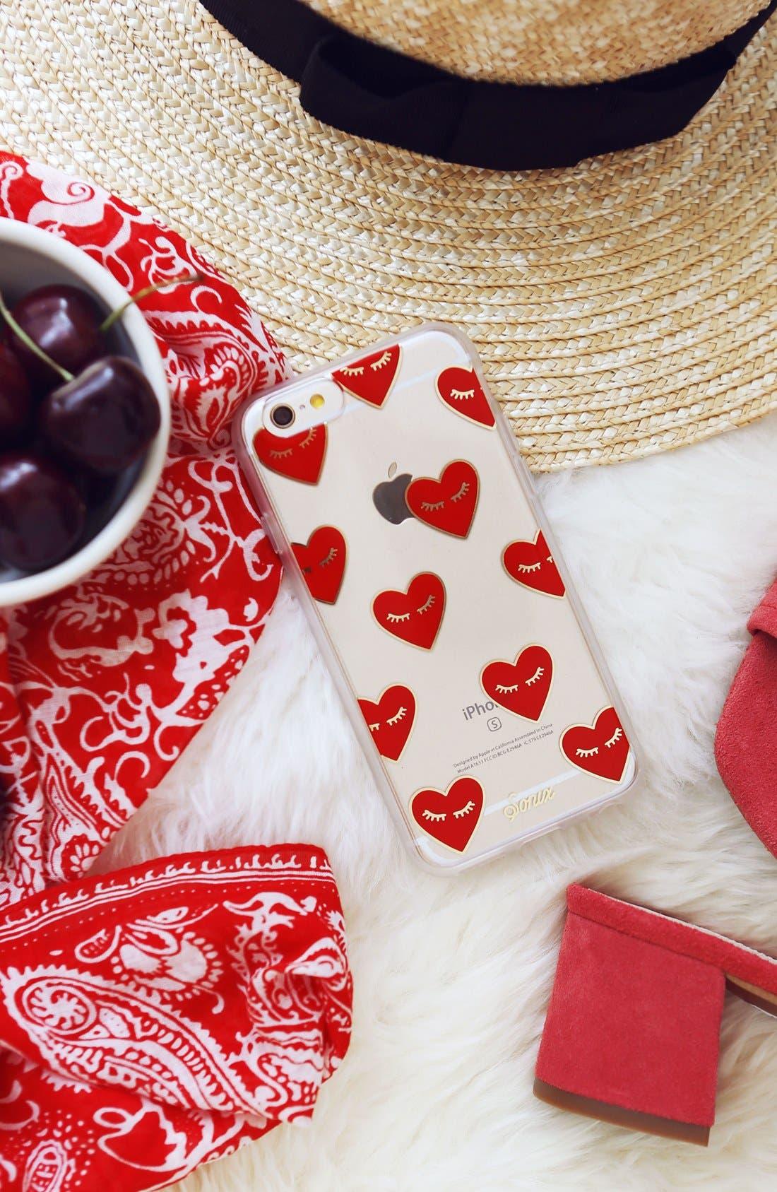 SONIX, Fancy Heart iPhone 7/8 & 7/8 Plus Case, Alternate thumbnail 4, color, 600