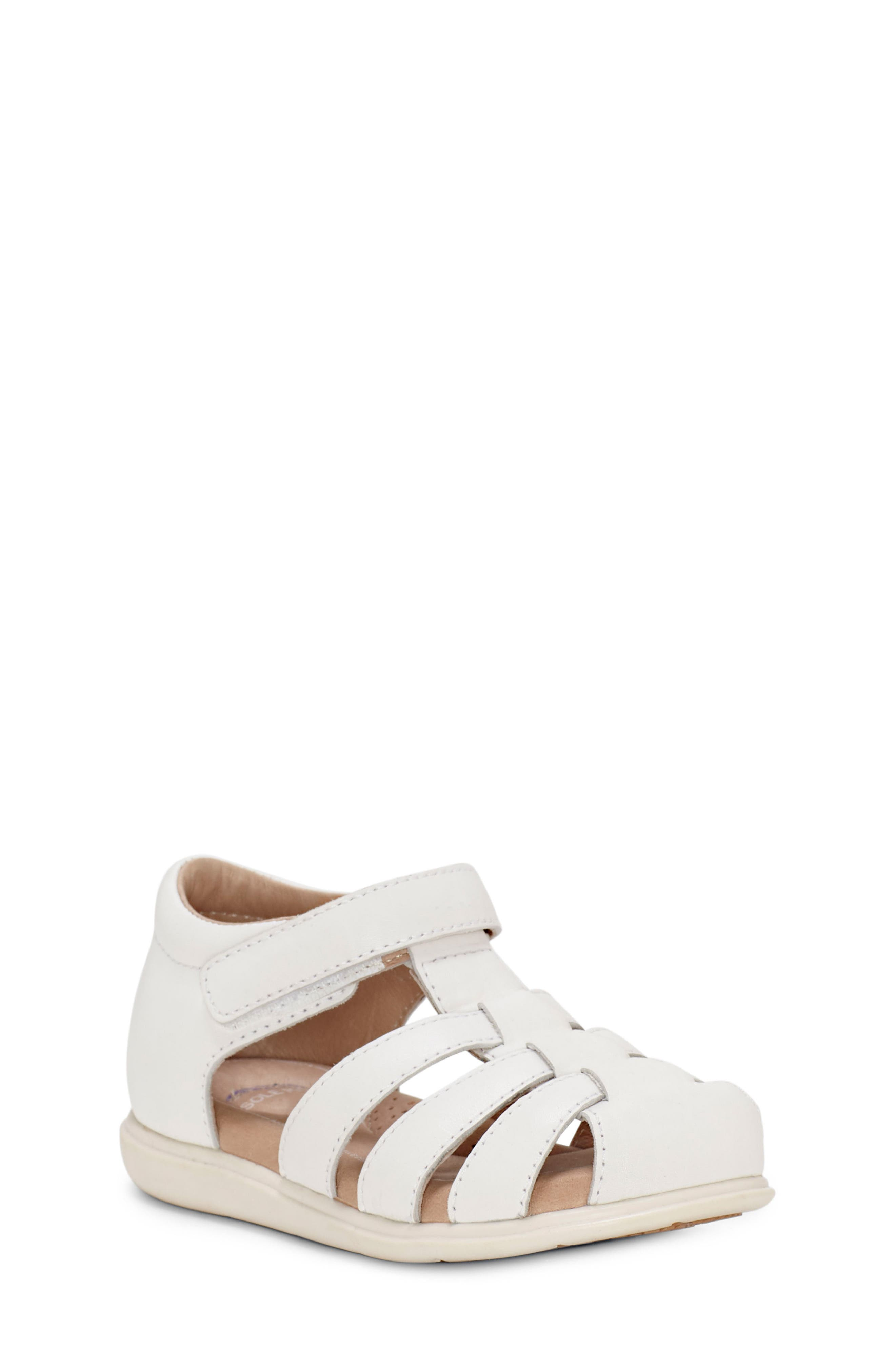 SOLE PLAY Caleb Sandal, Main, color, WHITE