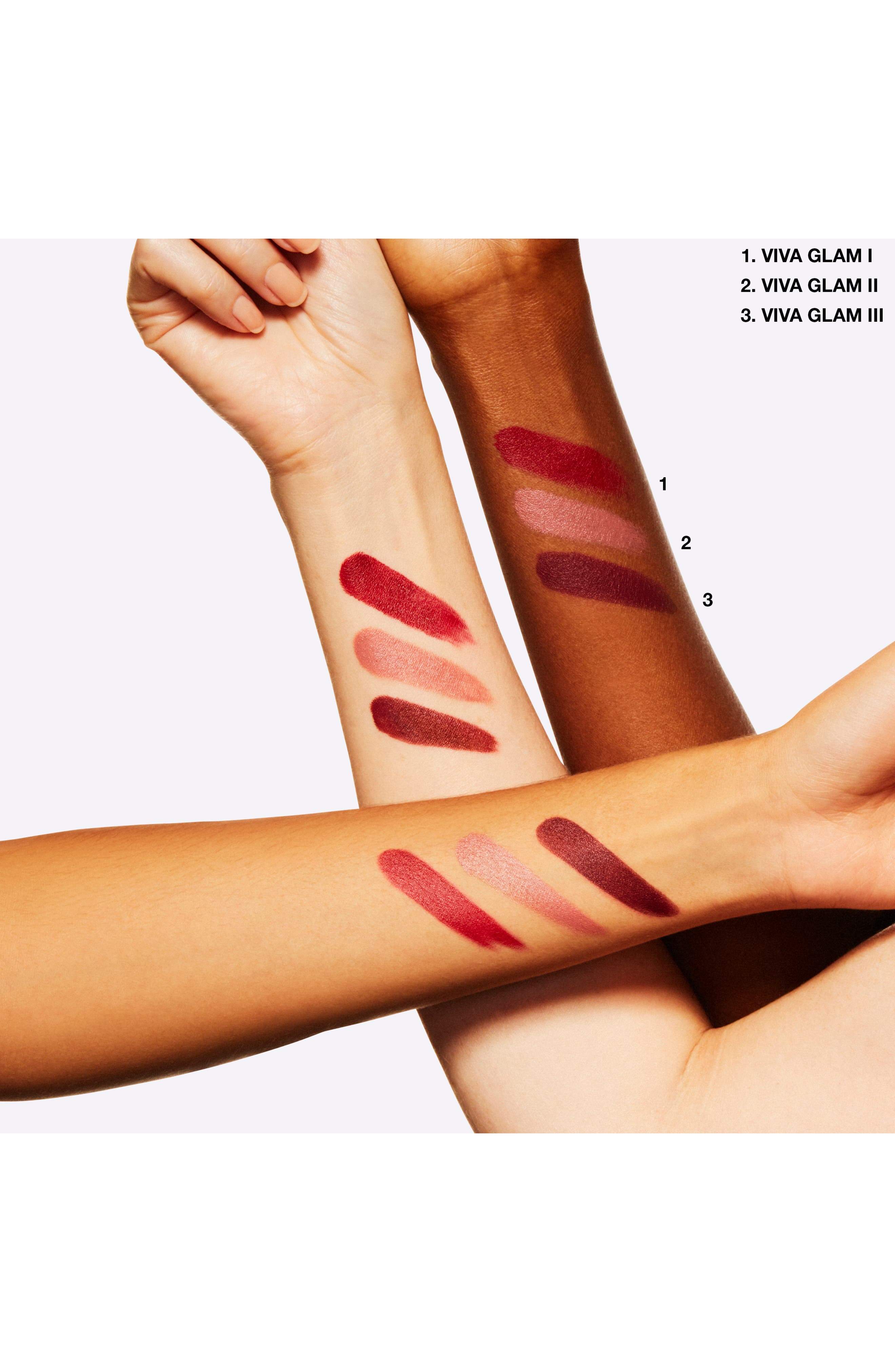 MAC COSMETICS, MAC Viva Glam Lipstick, Alternate thumbnail 4, color, VIVA GLAM
