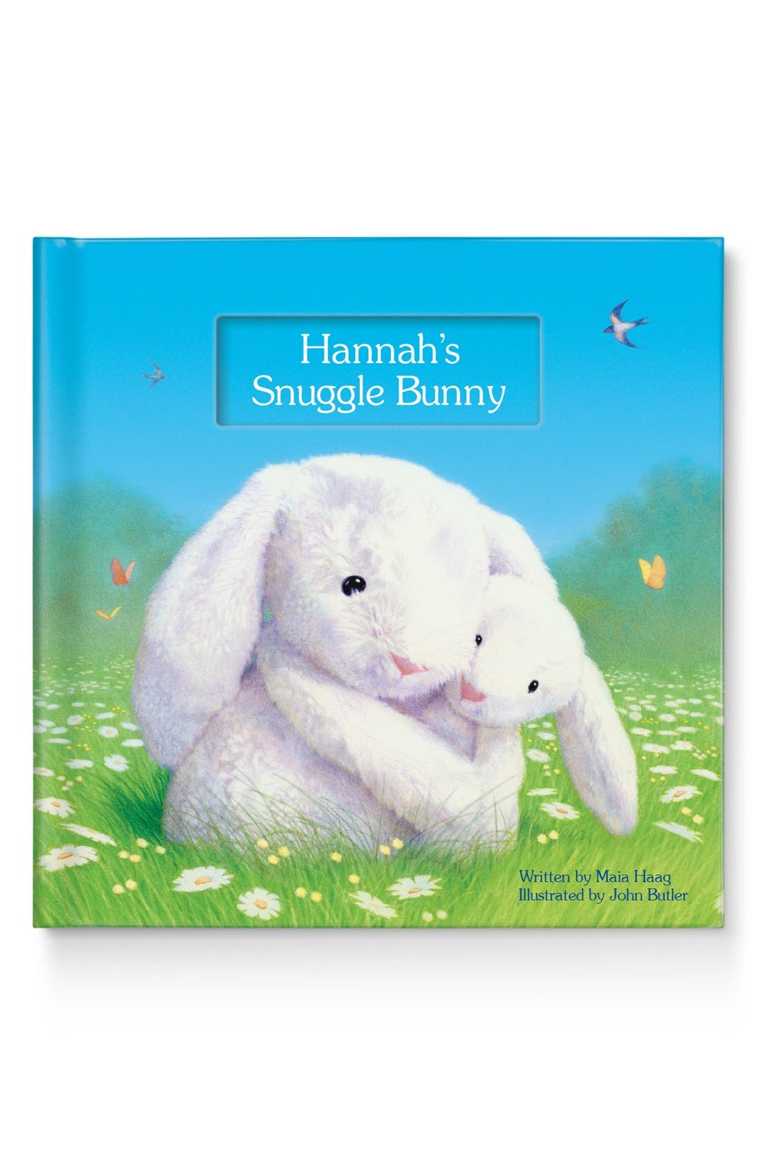 My Snuggle Bunny Personalized Book Size One Size  White