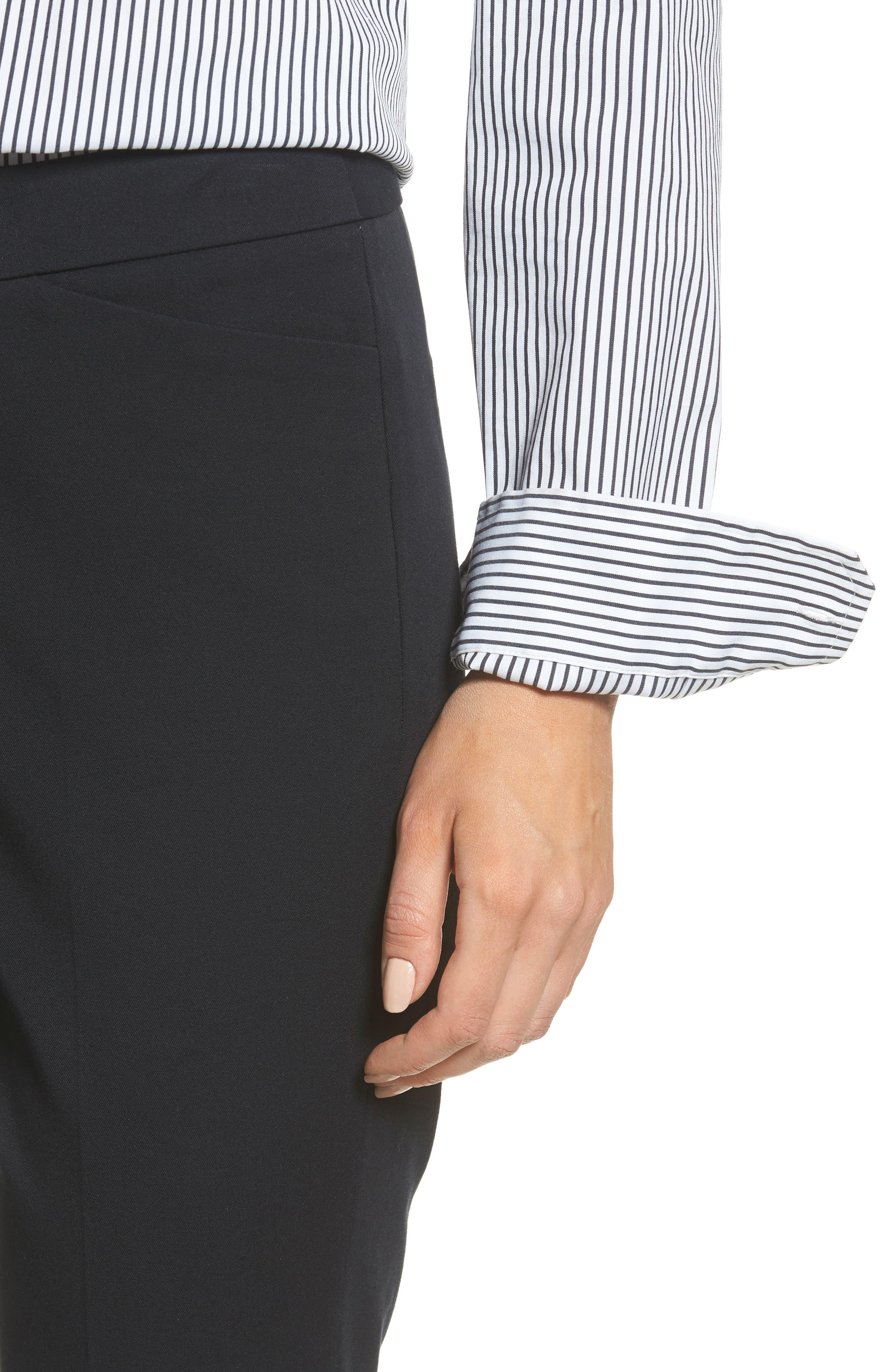 HALOGEN<SUP>®</SUP>, Ankle Pants, Alternate thumbnail 5, color, 001