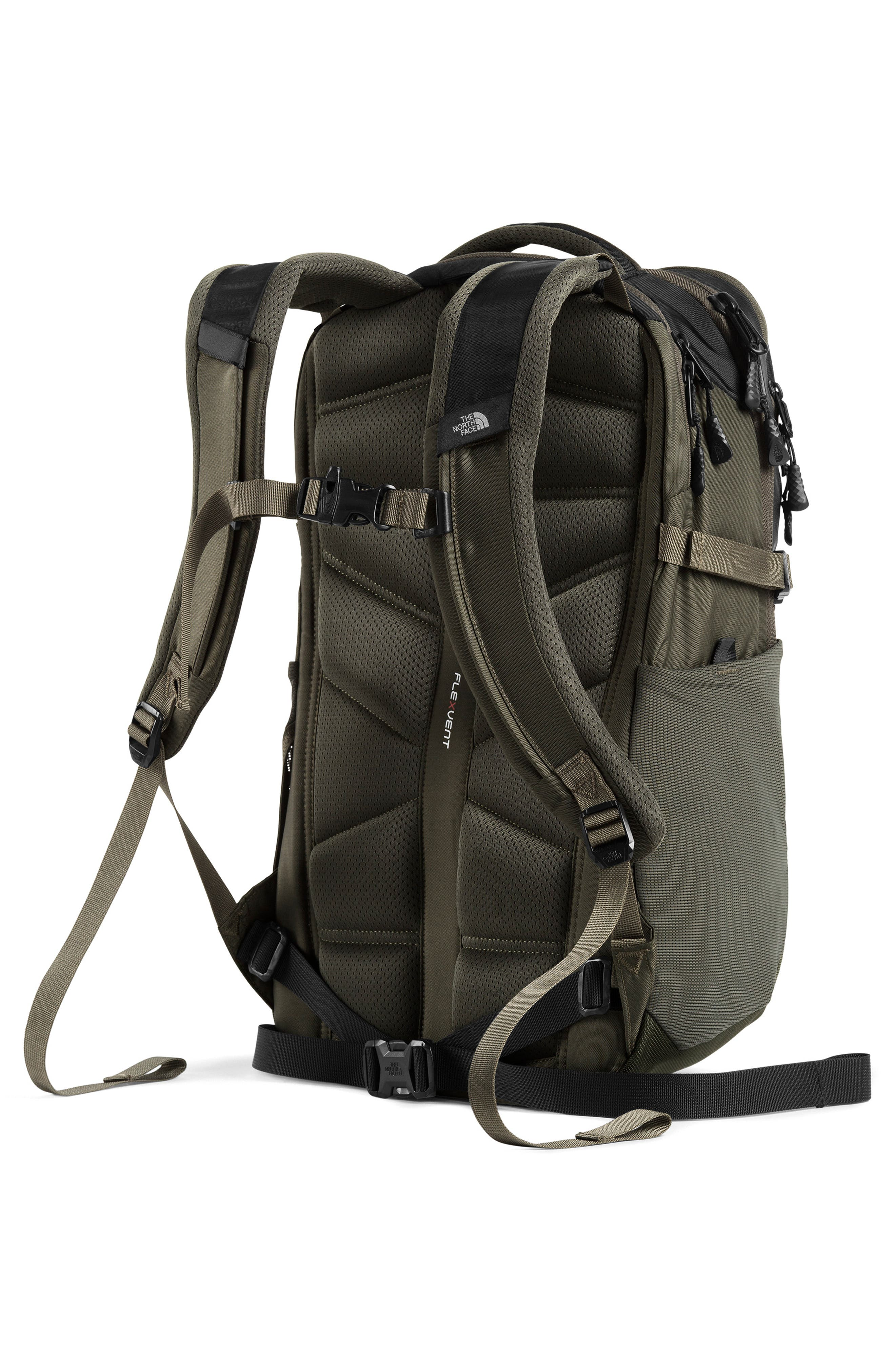 THE NORTH FACE, Recon Backpack, Alternate thumbnail 2, color, TNF BLACK/ NEW TAUPE GREEN