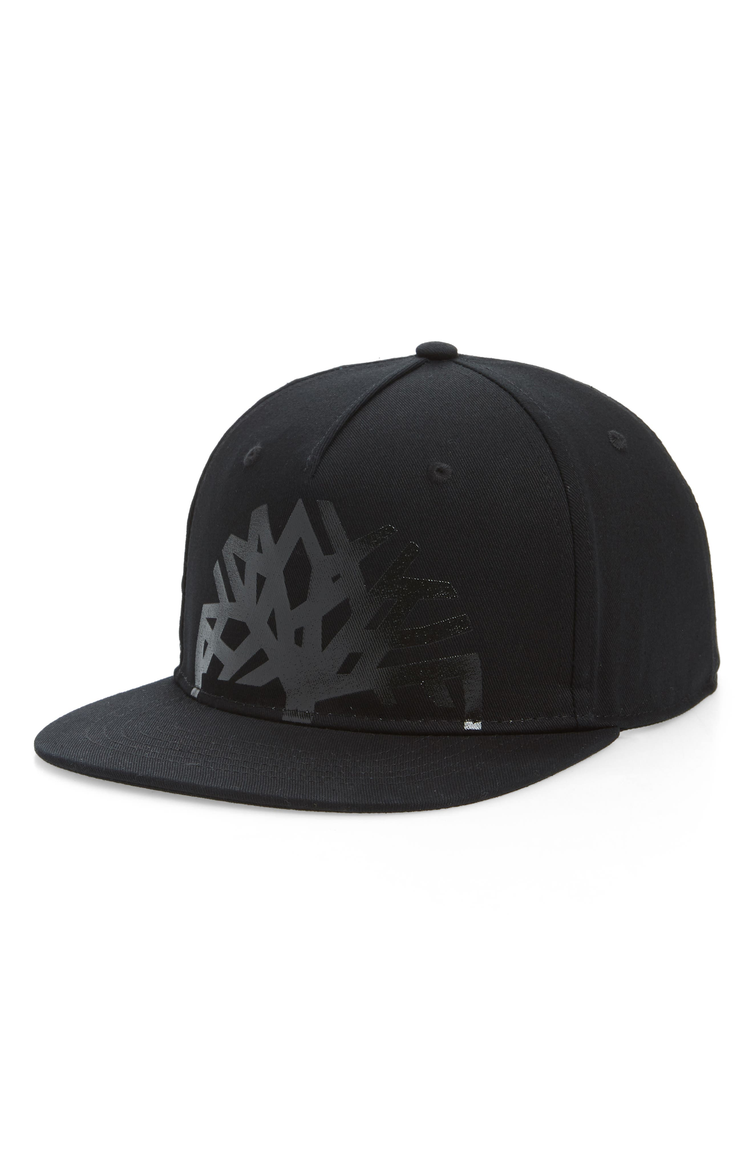 TIMBERLAND Urban Craft Snapback Baseball Cap, Main, color, BLACK