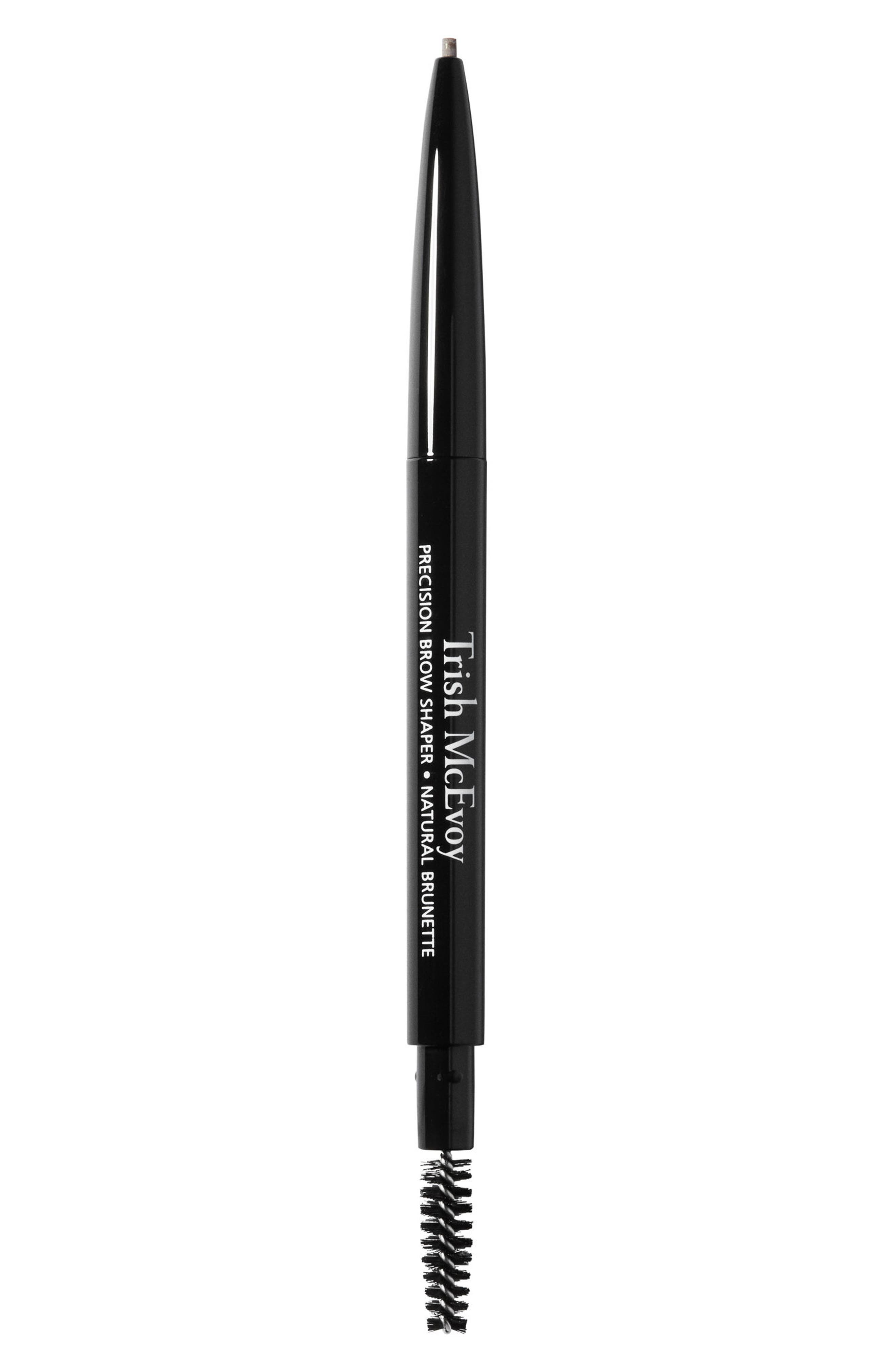 TRISH MCEVOY, Precision Brow Shaper, Main thumbnail 1, color, NATURAL BRUNETTE
