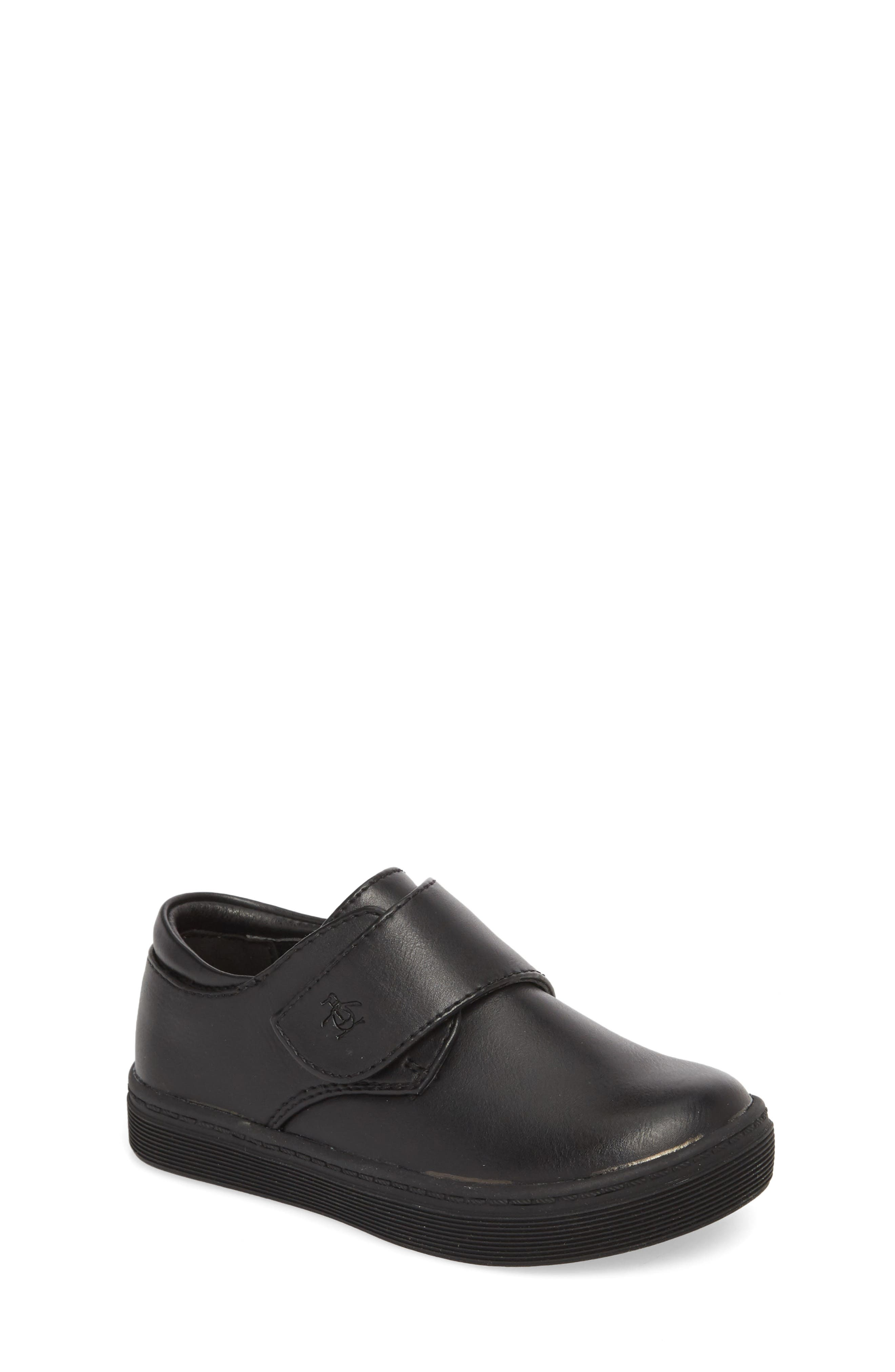 ORIGINAL PENGUIN, Felton Sneaker, Main thumbnail 1, color, BLACK/ BLACK