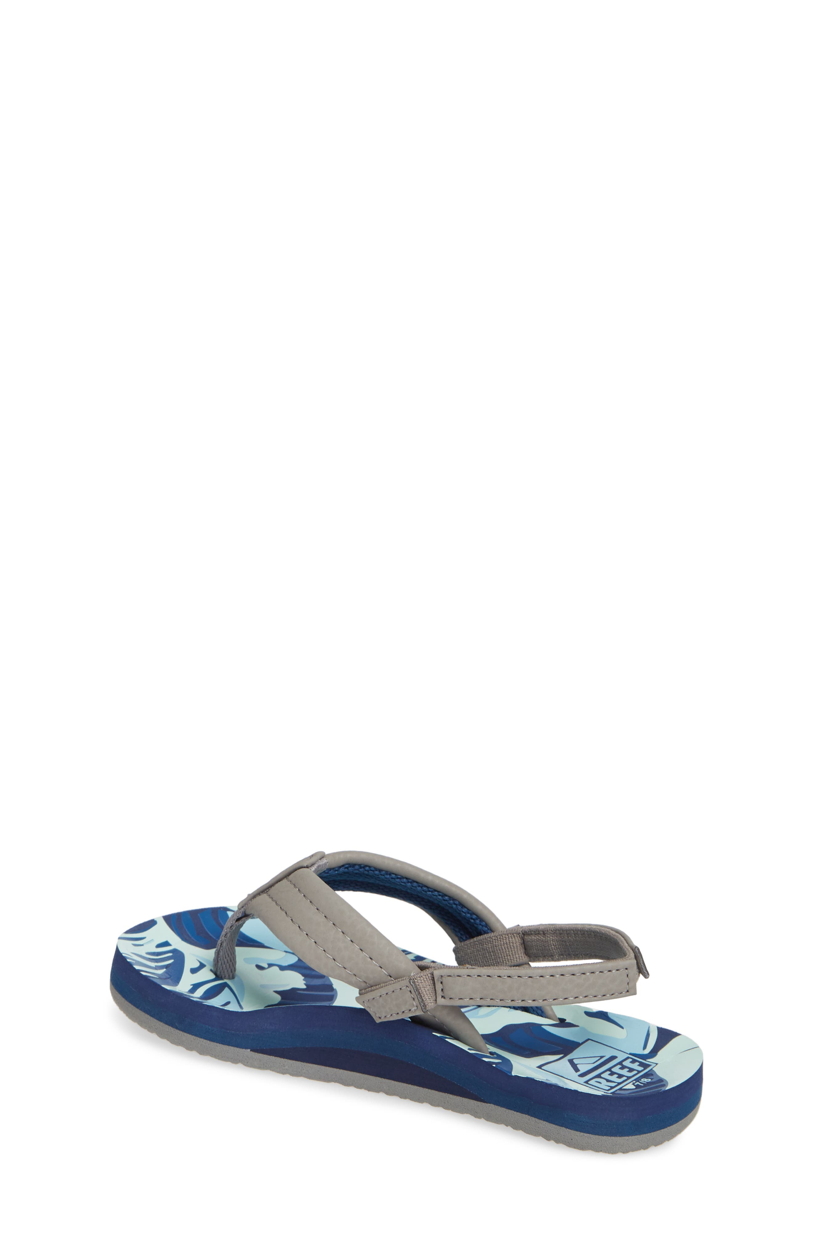 REEF, 'Ahi' Sandal, Alternate thumbnail 2, color, BLUE