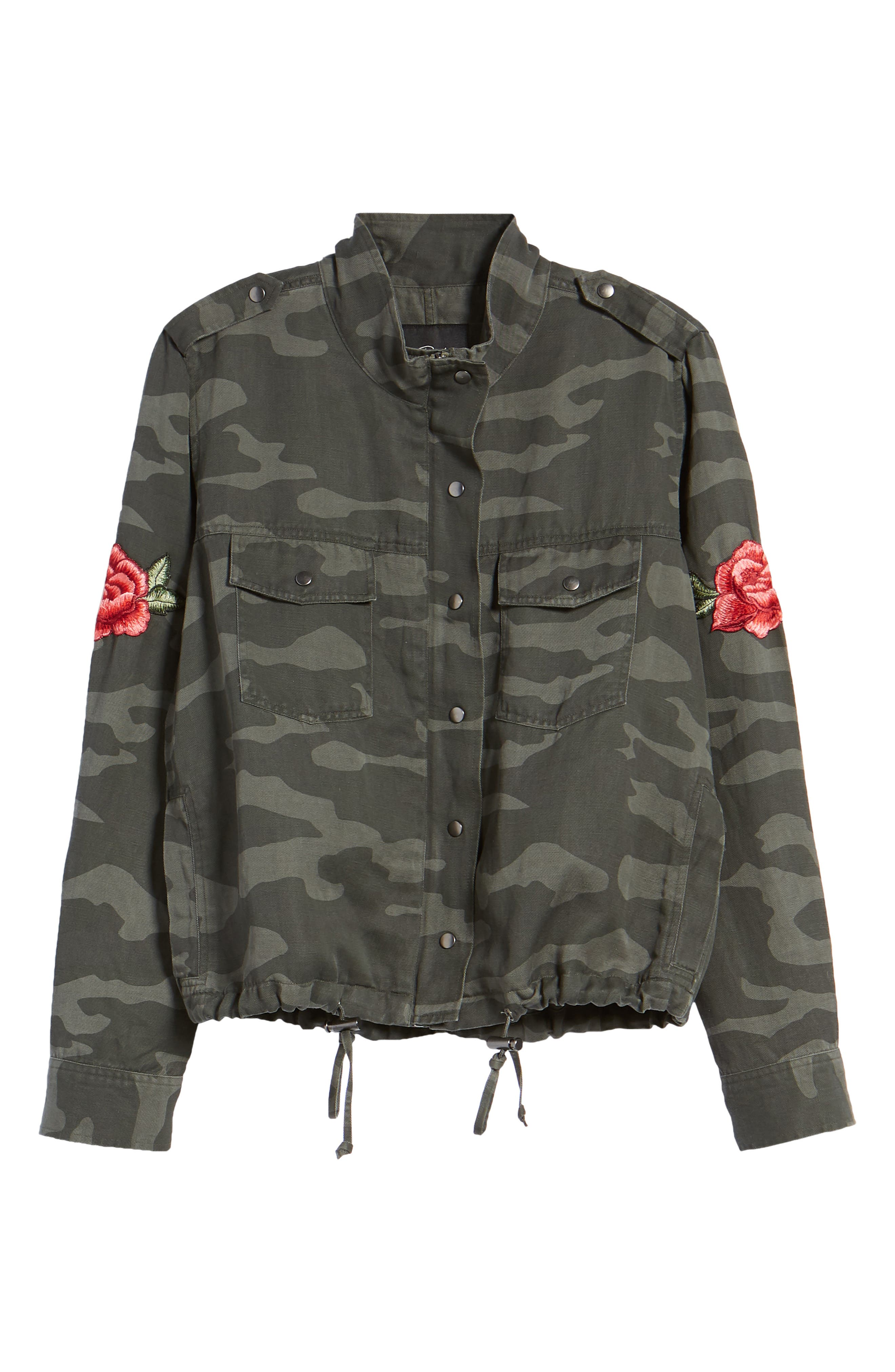 RAILS, Collins Military Jacket, Alternate thumbnail 5, color, 346