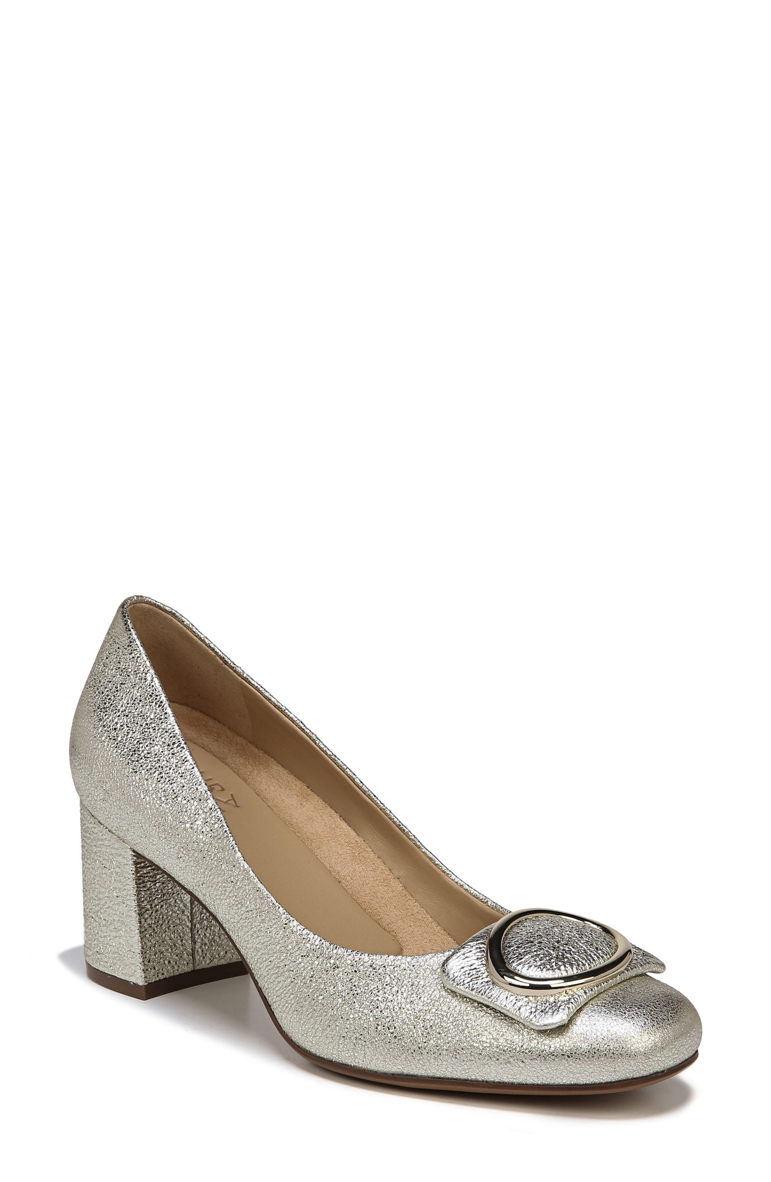 NATURALIZER Wright Pump, Main, color, PLATINO LEATHER