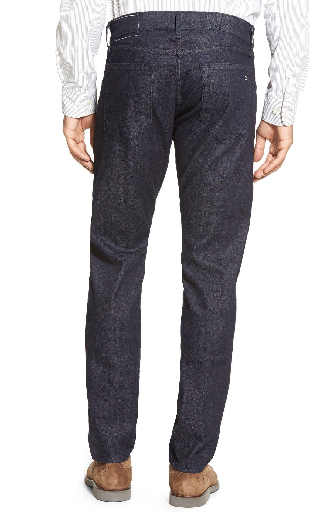 RAG & BONE, Standard Issue Fit 2 Slim Fit Jeans, Alternate thumbnail 4, color, TONAL RINSE