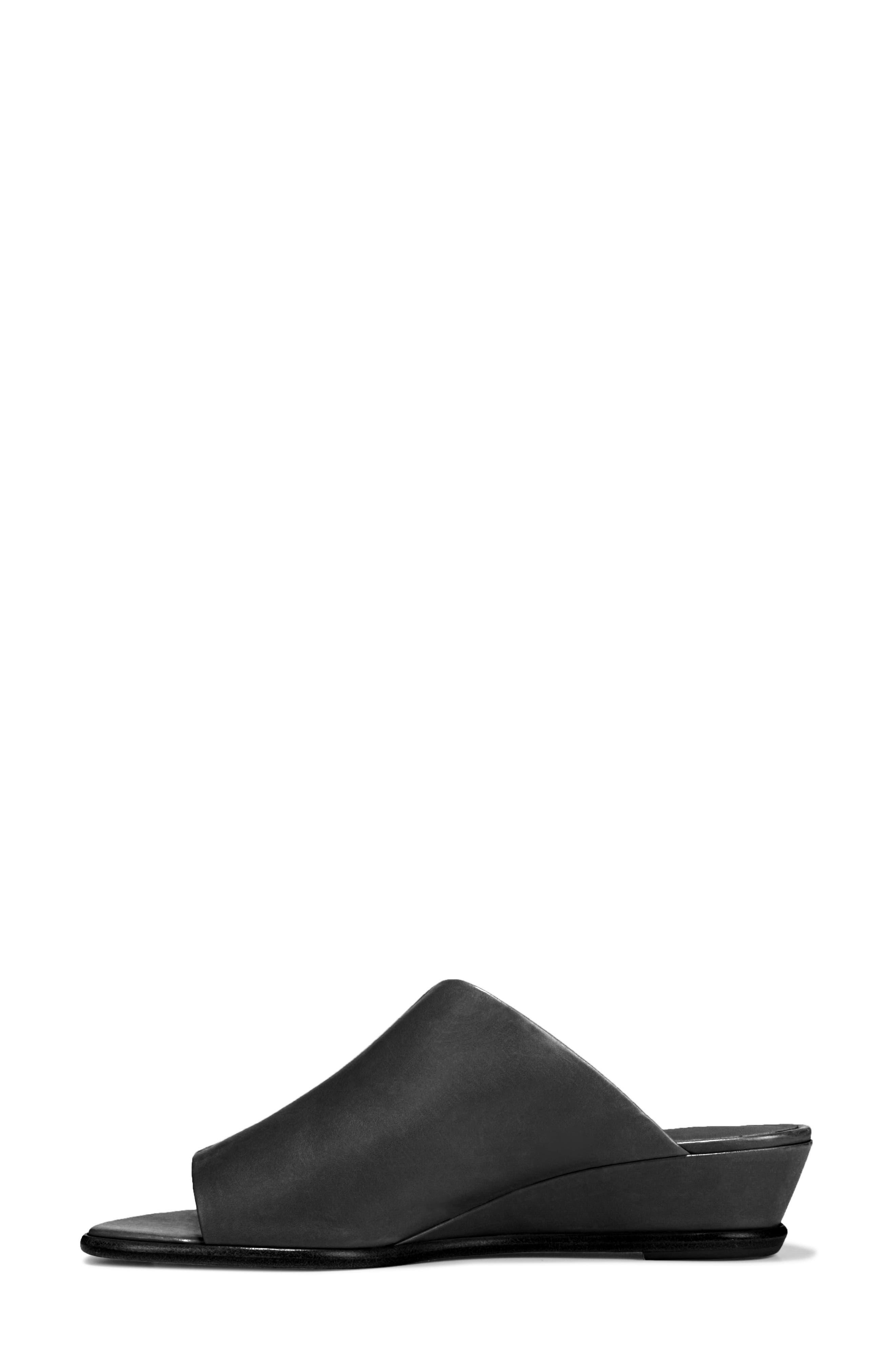 VINCE, Duvall Asymmetrical Wedge Sandal, Alternate thumbnail 9, color, BLACK