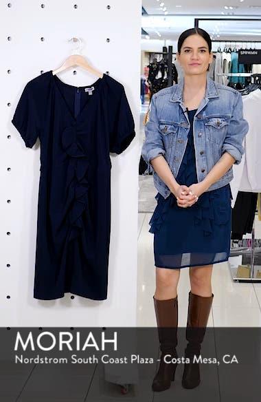 Ruffle Front Sheath Dress, sales video thumbnail