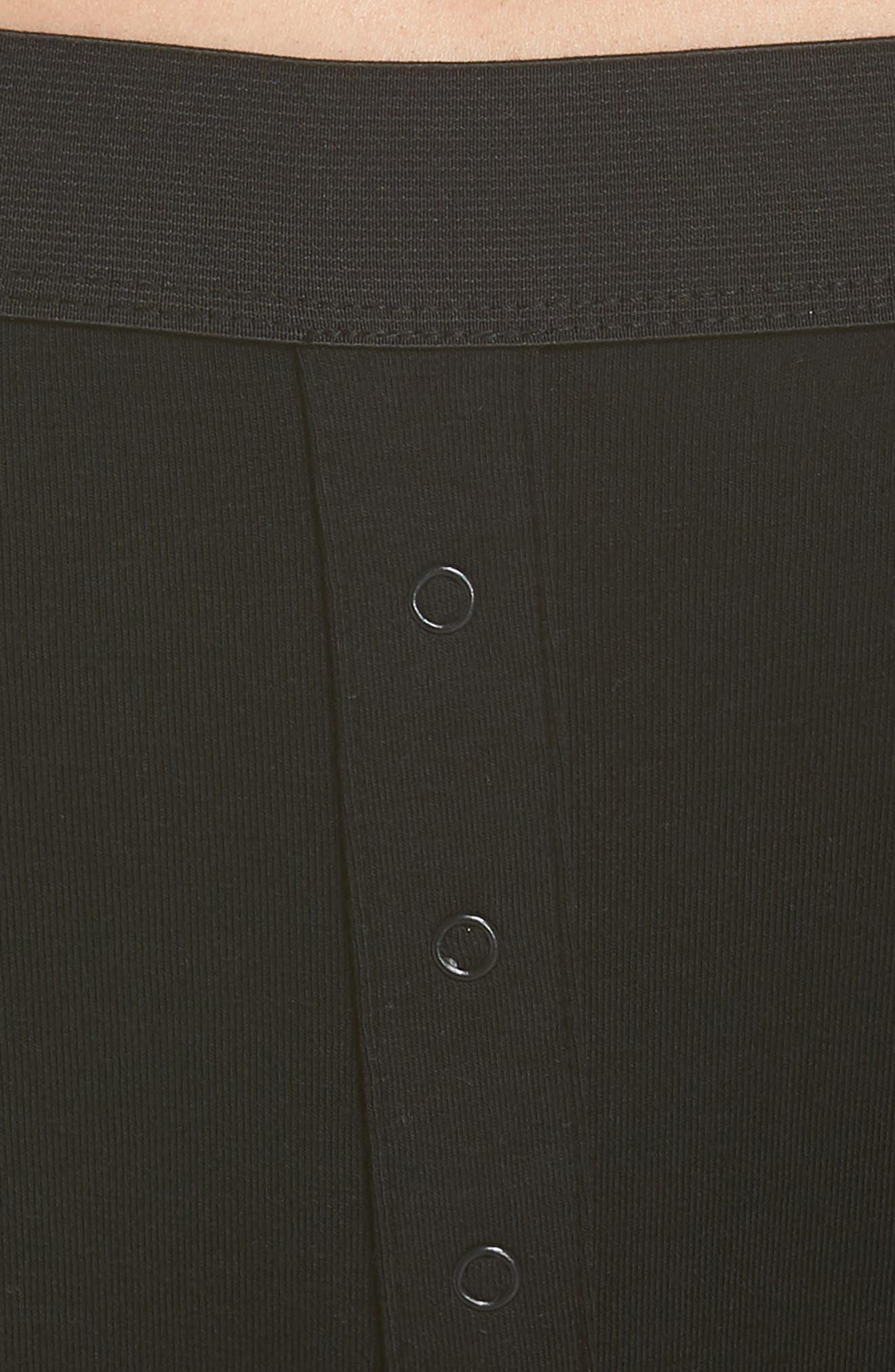 RICHER POORER, Bralette & Boxer Set, Alternate thumbnail 5, color, BLACK