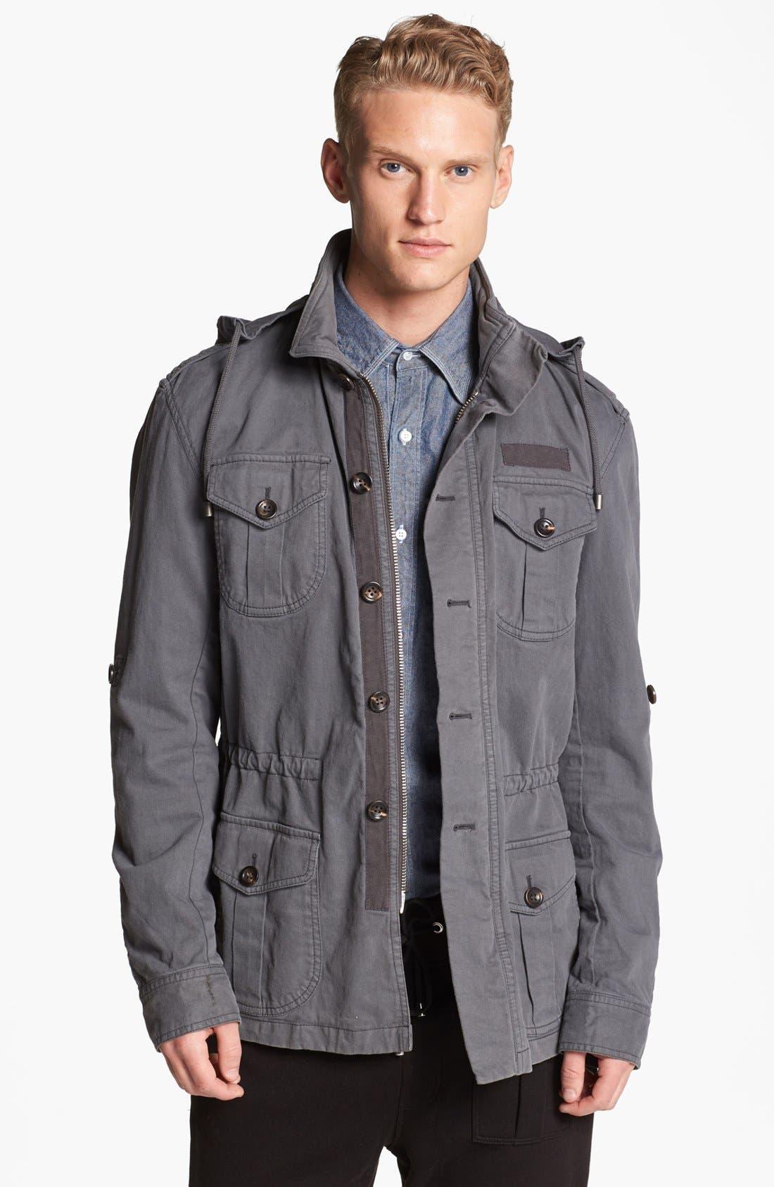 MICHAEL BASTIAN Military Field Jacket, Main, color, 021