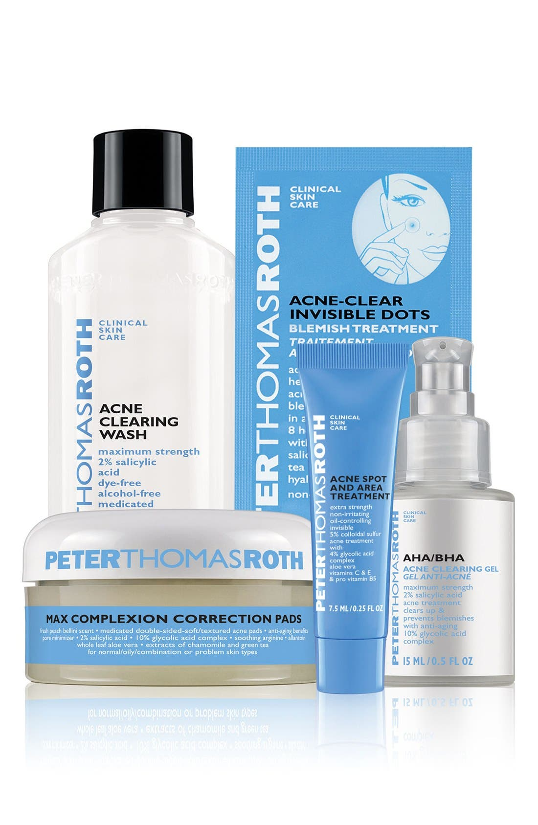 PETER THOMAS ROTH, Acne System Kit, Main thumbnail 1, color, 000
