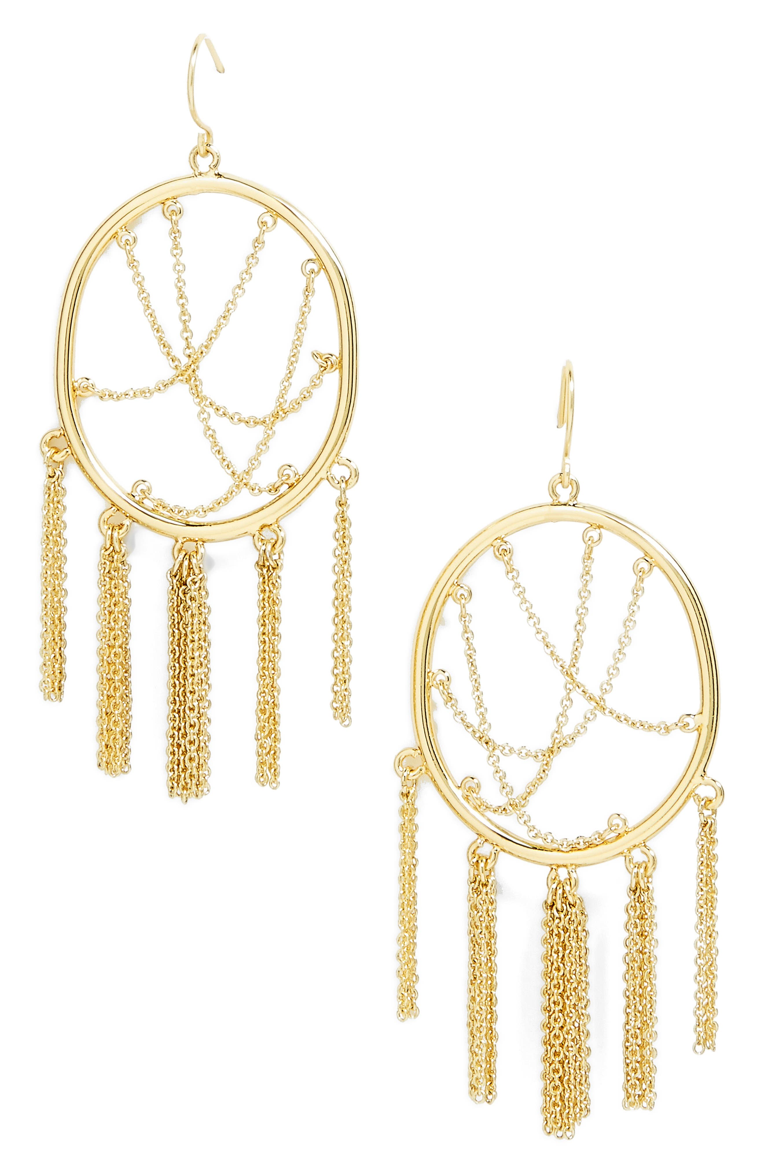 BAUBLEBAR Allura Drop Earrings, Main, color, 710