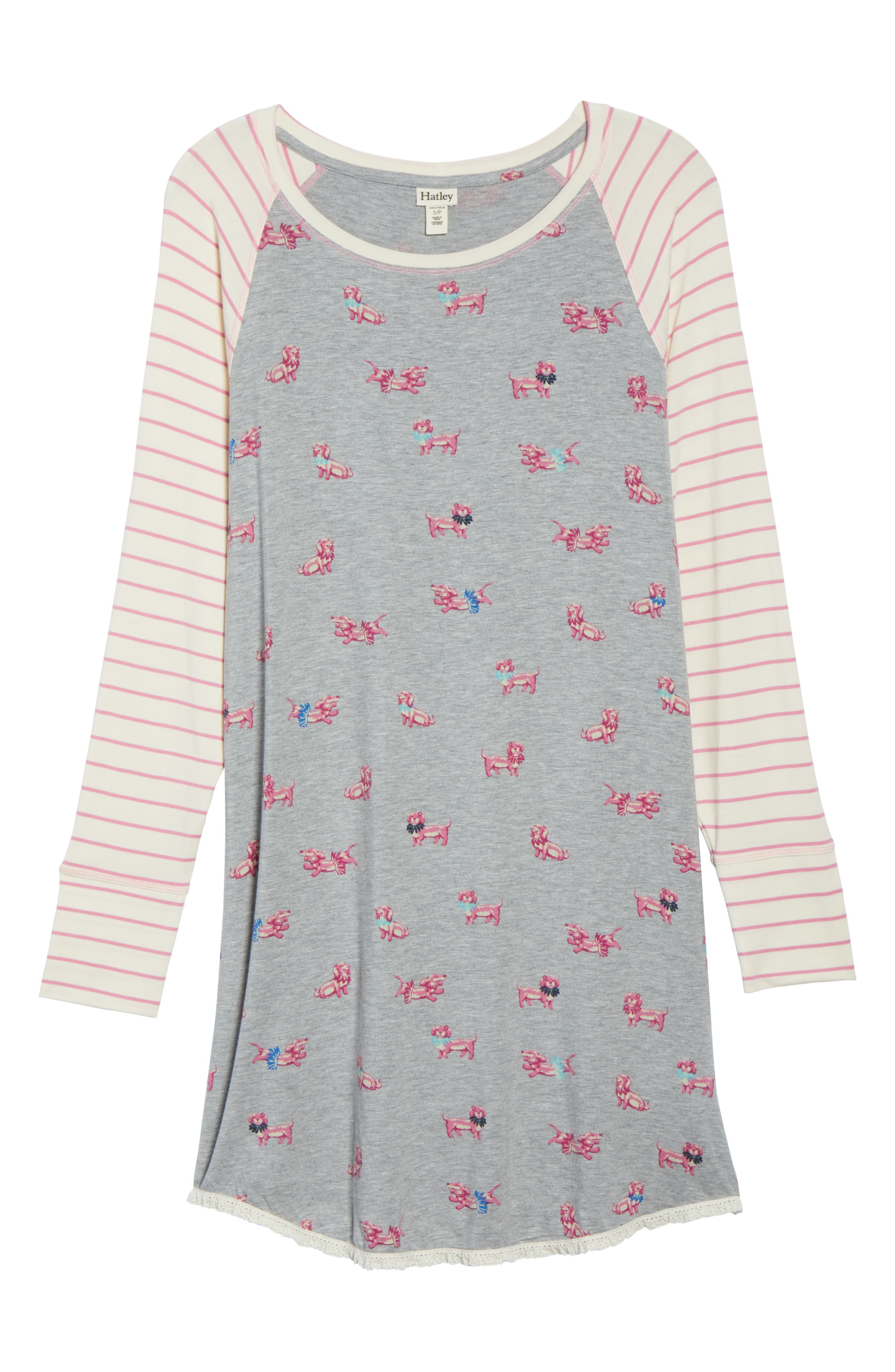 HATLEY, Nighty Nightshirt, Alternate thumbnail 6, color, 020