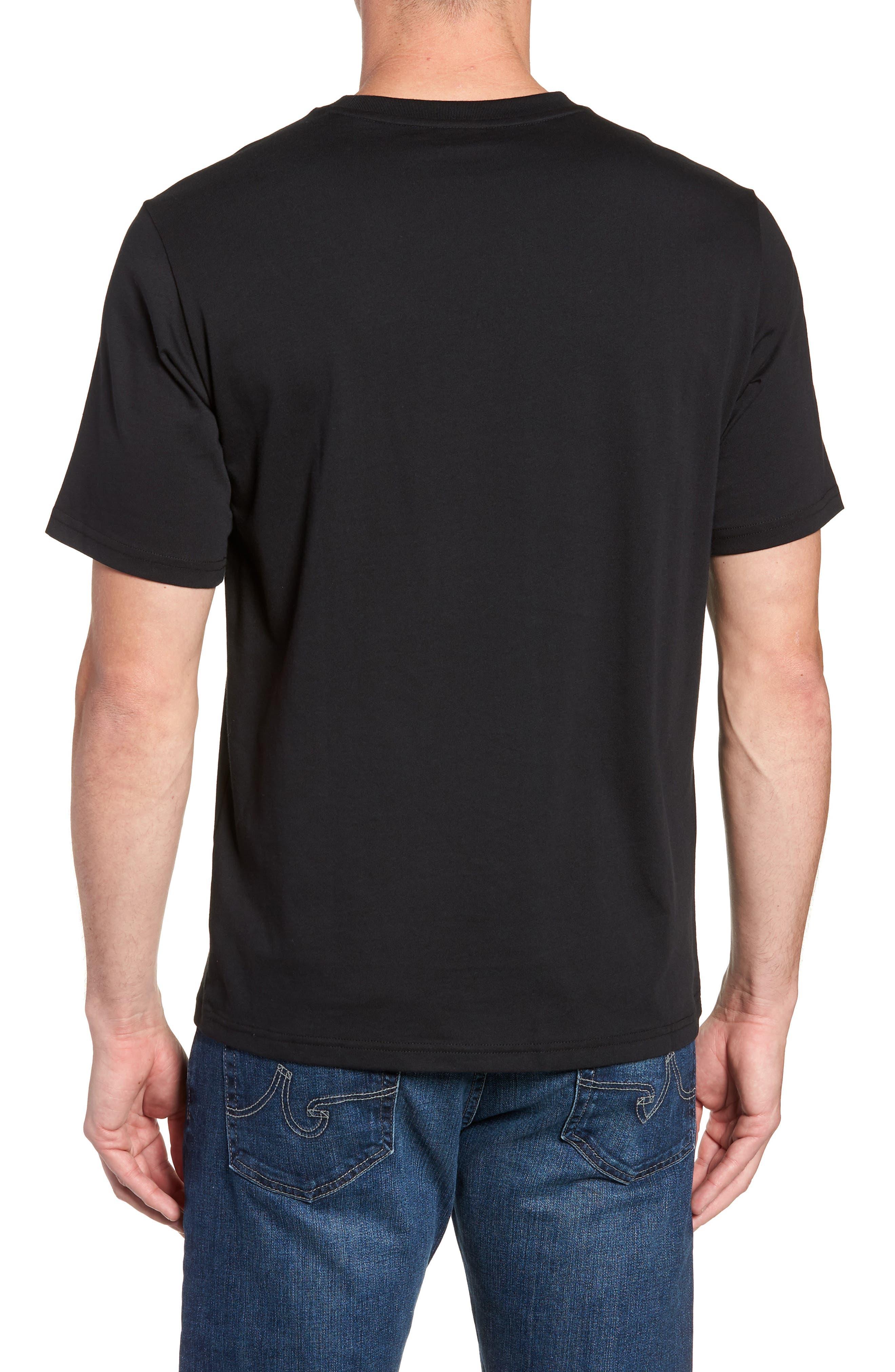 NEW BALANCE, NB Shoe Box Graphic T-Shirt, Alternate thumbnail 2, color, BLACK