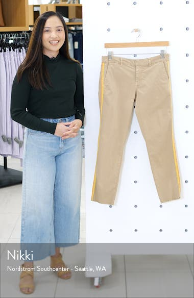 East Hampton Side Tape Crop Pants, sales video thumbnail