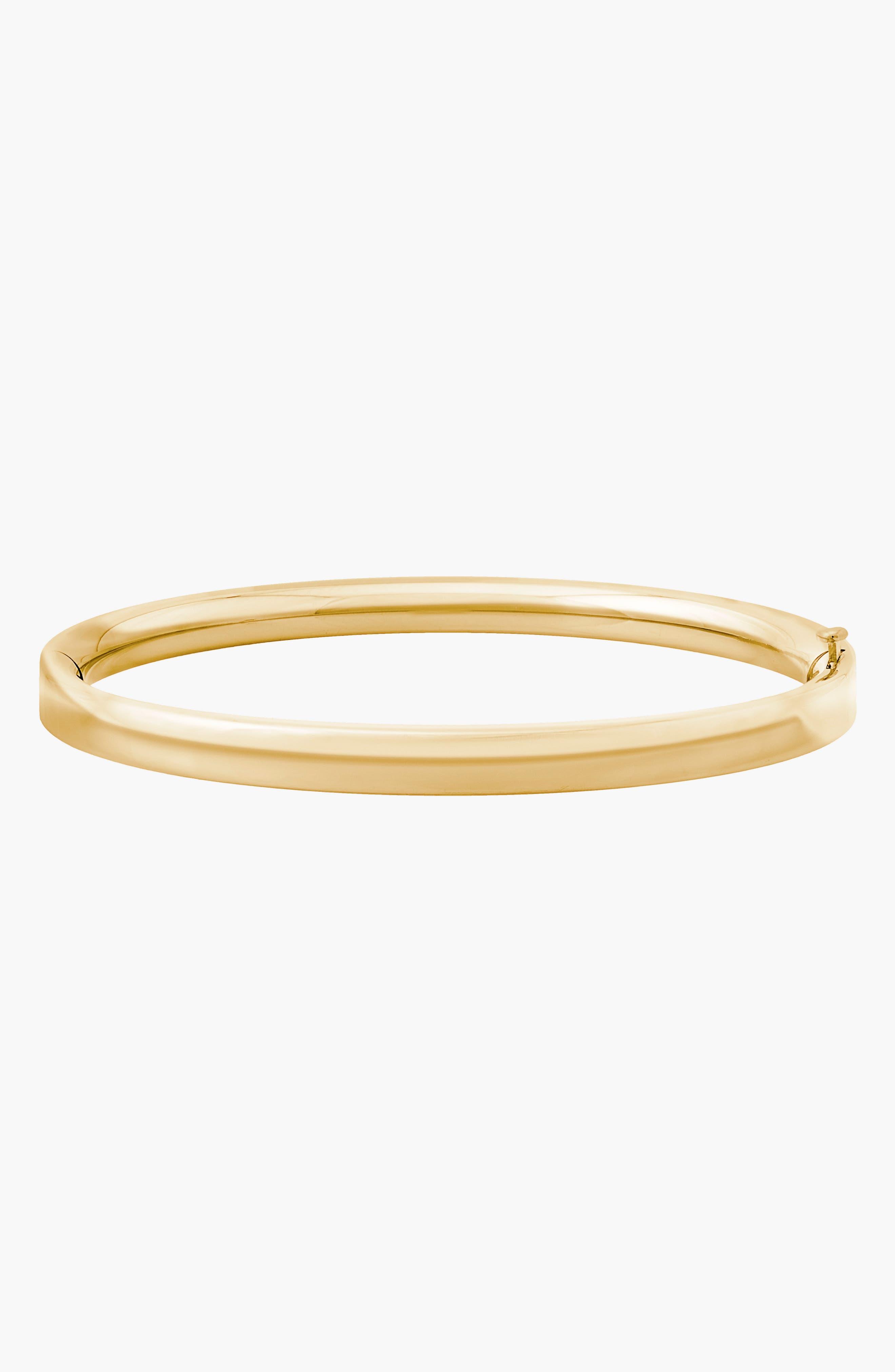 MIGNONETTE, 14k Gold Bracelet, Alternate thumbnail 2, color, GOLD
