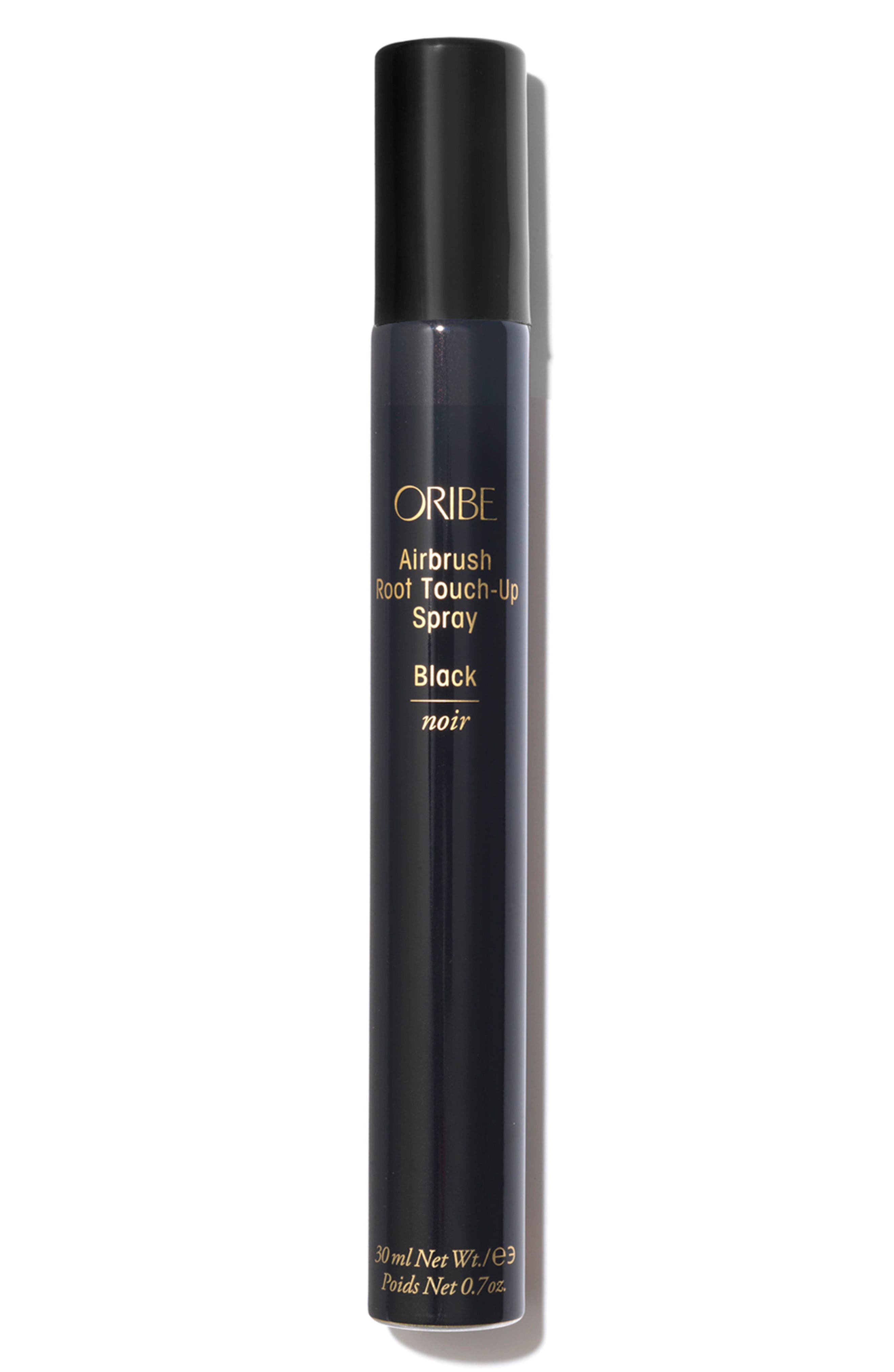 ORIBE, SPACE.NK.apothecary Oribe Airbrush Root Touch-Up Spray, Main thumbnail 1, color, BLACK