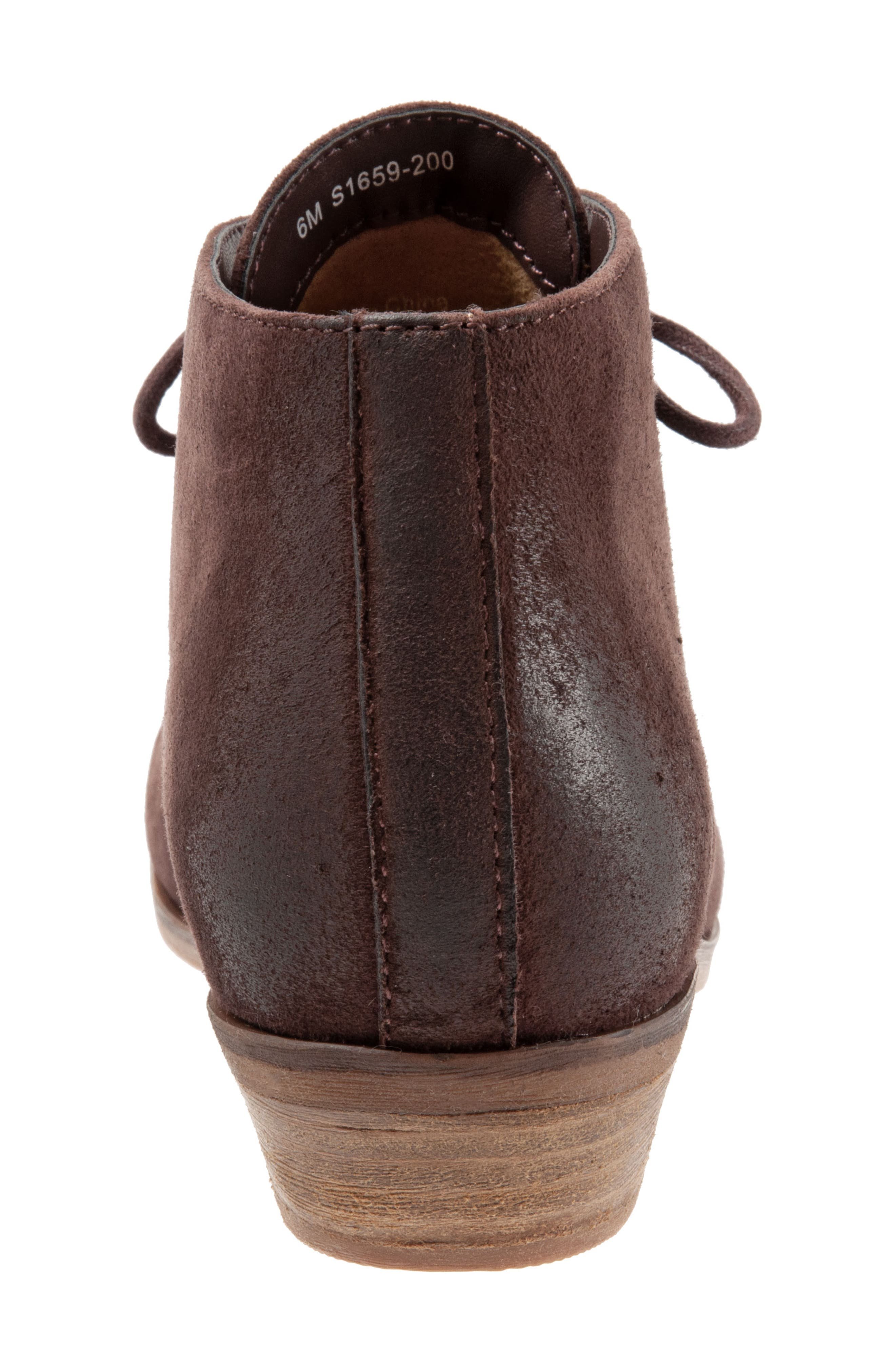 SOFTWALK<SUP>®</SUP>, Ramsey Chukka Boot, Alternate thumbnail 7, color, DARK BROWN LEATHER