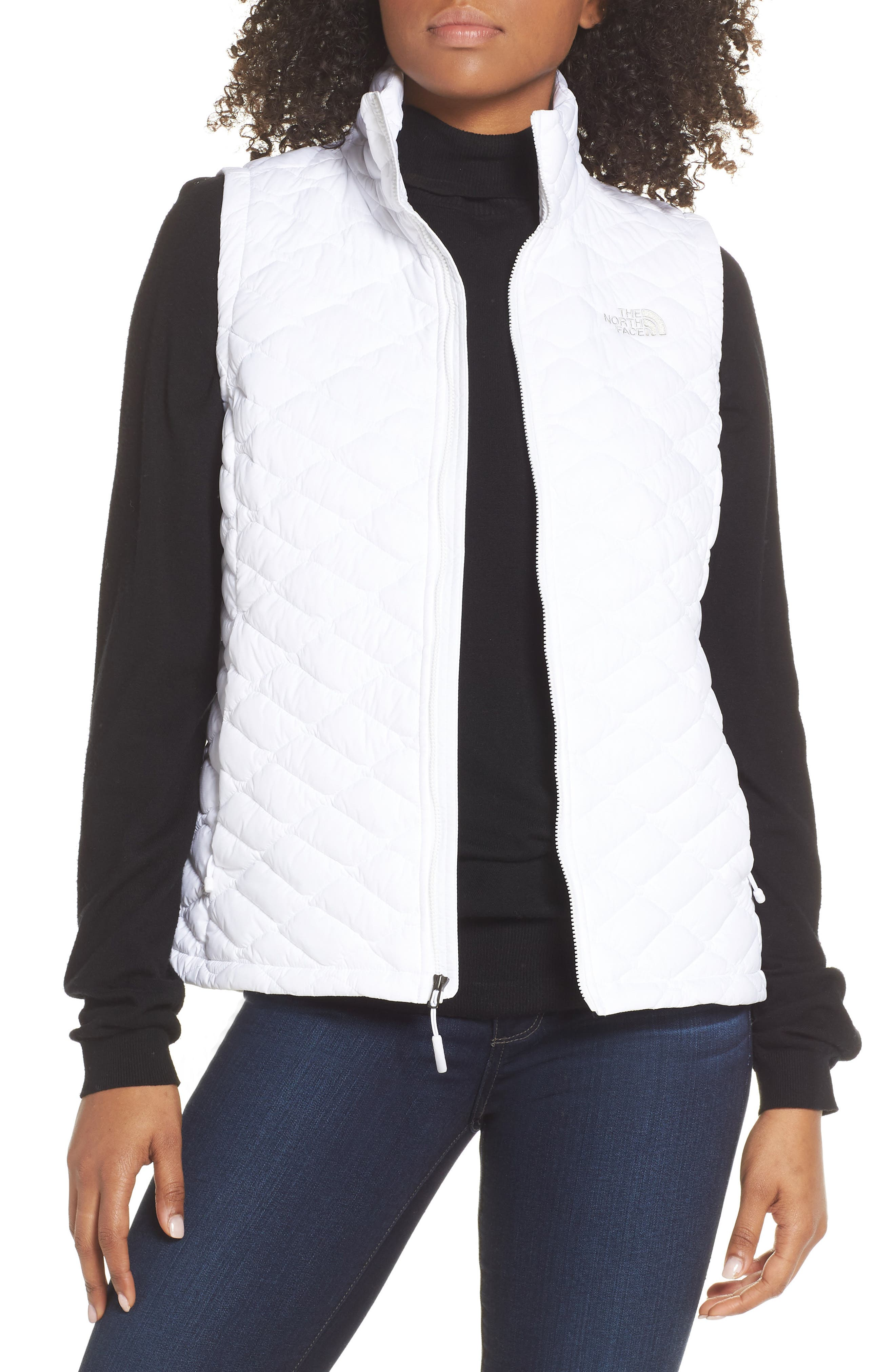 THE NORTH FACE, ThermoBall<sup>™</sup> PrimaLoft<sup>®</sup> Vest, Main thumbnail 1, color, TNF WHITE MATTE