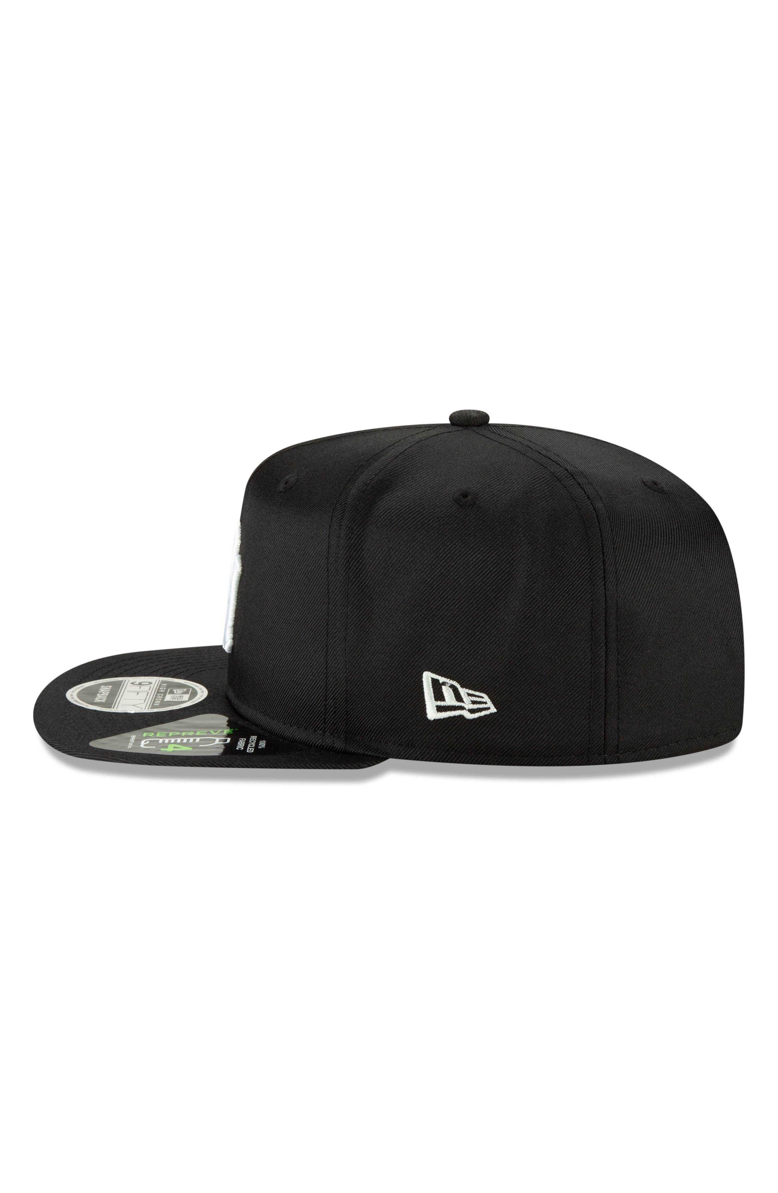 NEW ERA CAP, High Crown 9FIFTY Baseball Cap, Alternate thumbnail 5, color, YANKEES