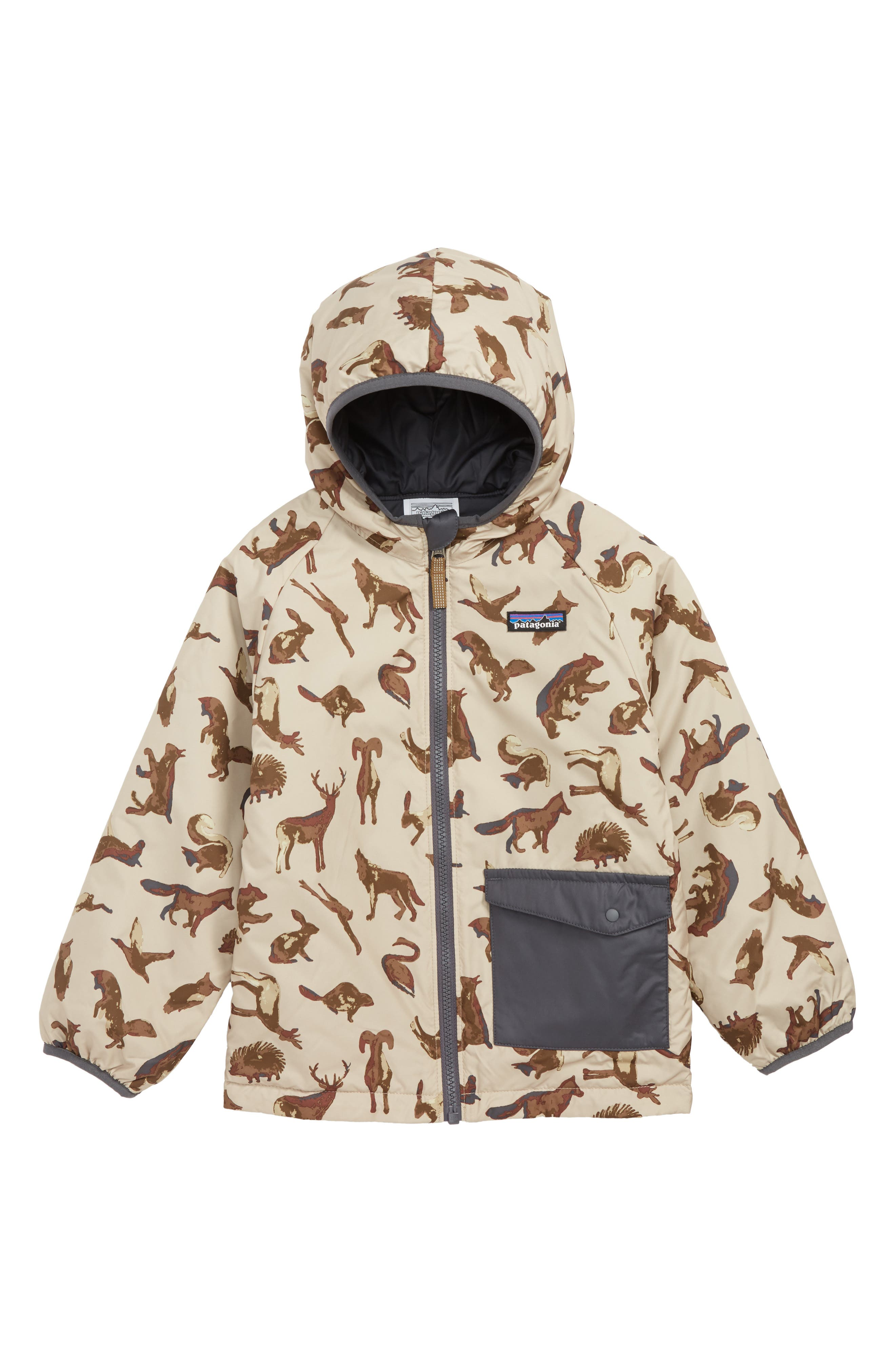 PATAGONIA, Puff Ball Water Resistant Thermolite<sup>®</sup> Insulated Reversible Jacket, Main thumbnail 1, color, 200