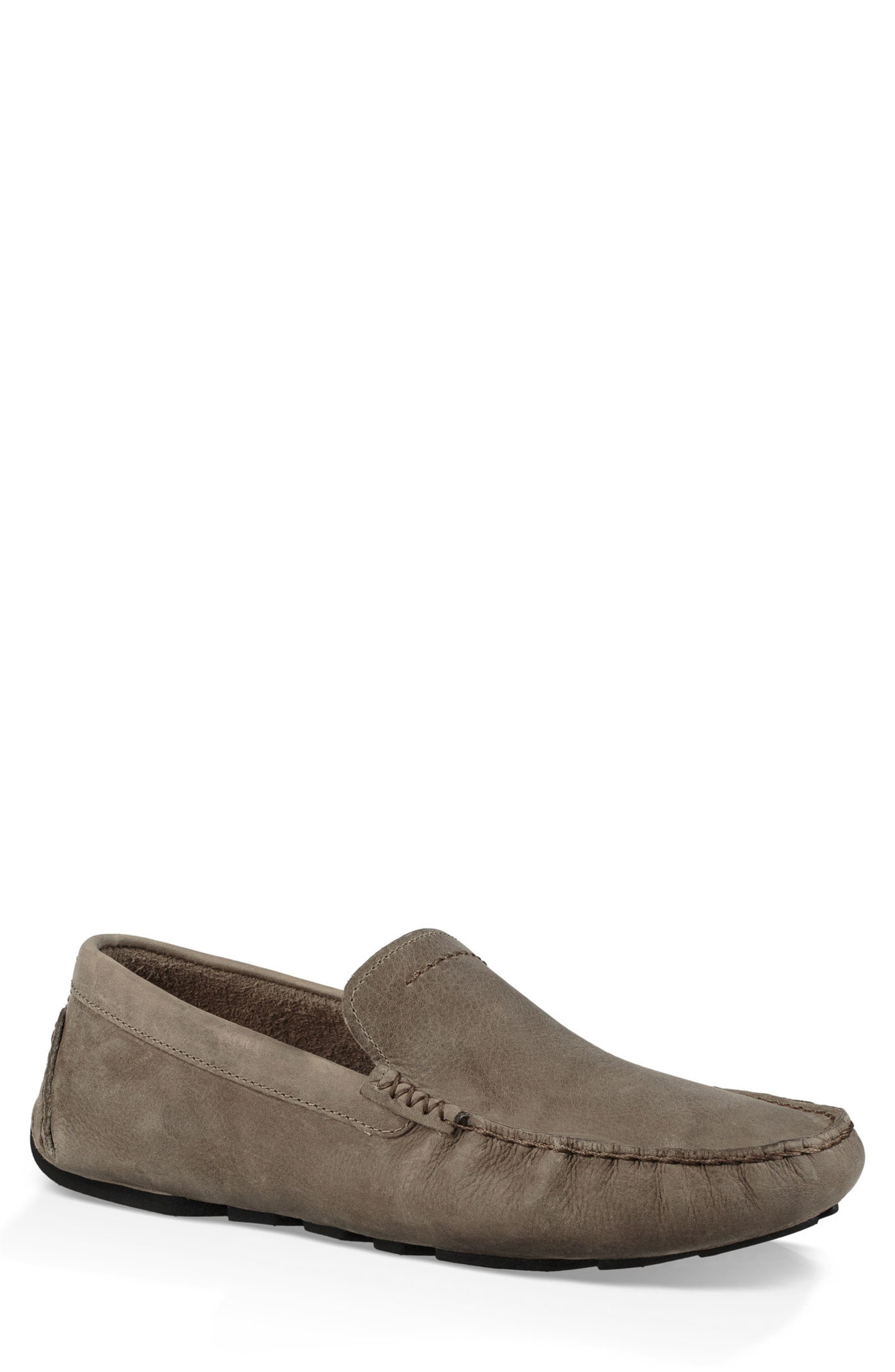 UGG<SUP>®</SUP> 'Henrick' Driving Shoe, Main, color, PUMICE