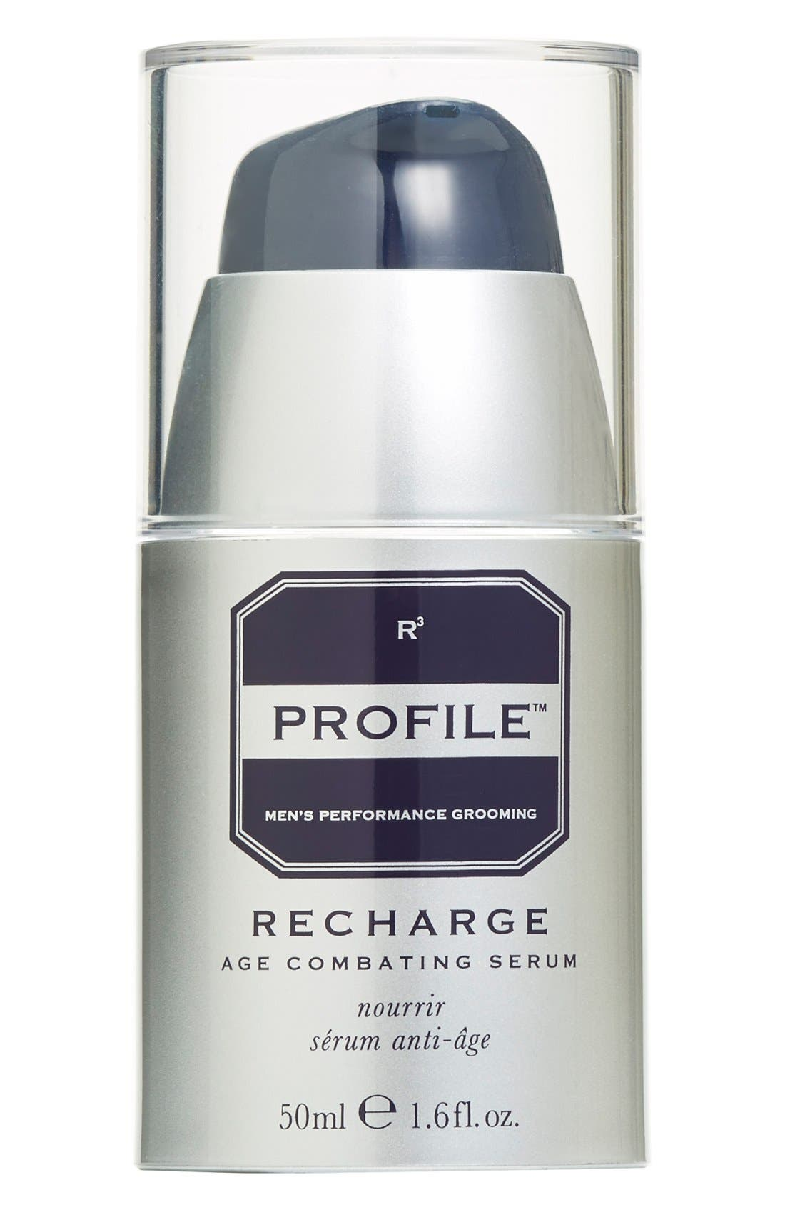 PROFILE<SUP>®</SUP> 'Recharge' Age Combating Post-Shave Serum, Main, color, NO COLOR