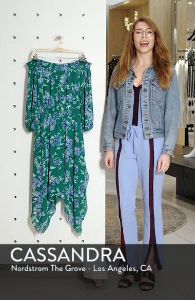 Smocked Handkerchief Hem Dress, sales video thumbnail