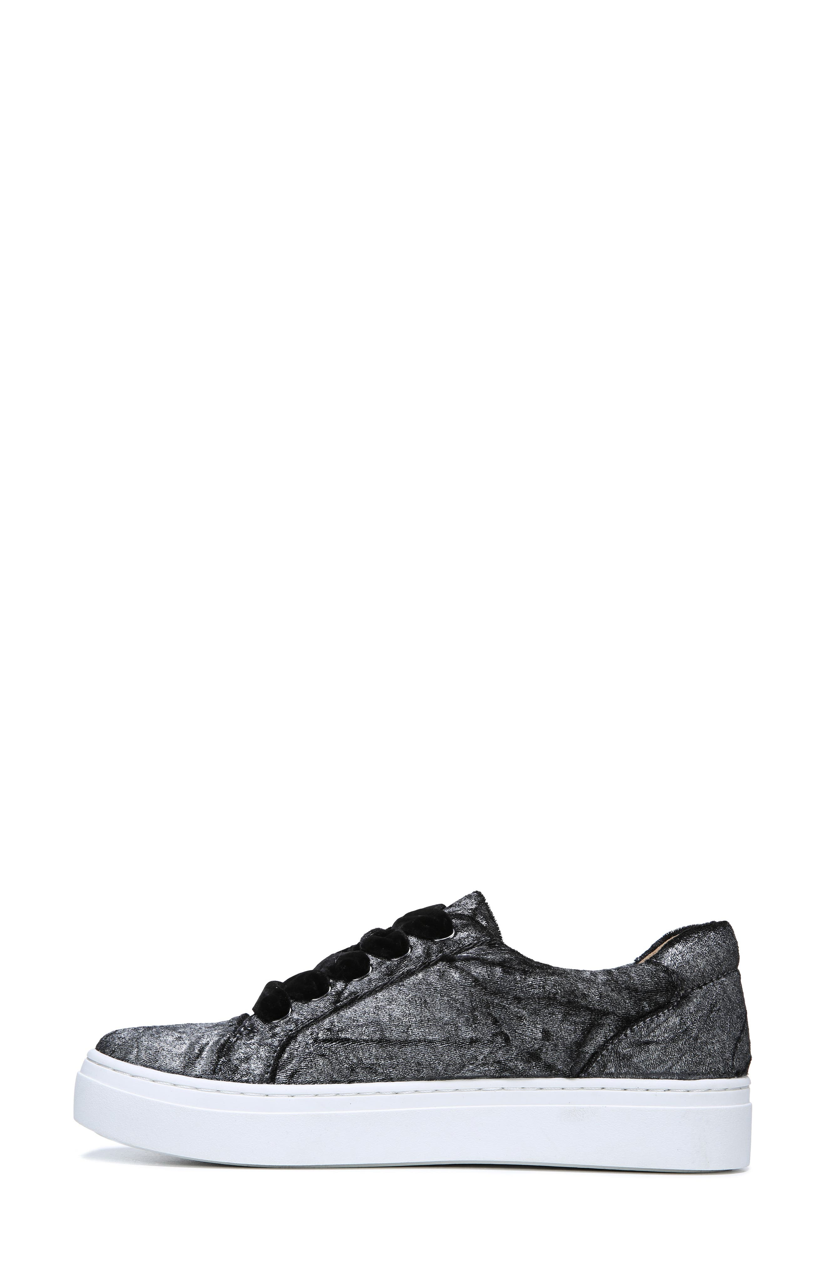 NATURALIZER, Cairo Sneaker, Alternate thumbnail 7, color, PEWTER VELVET