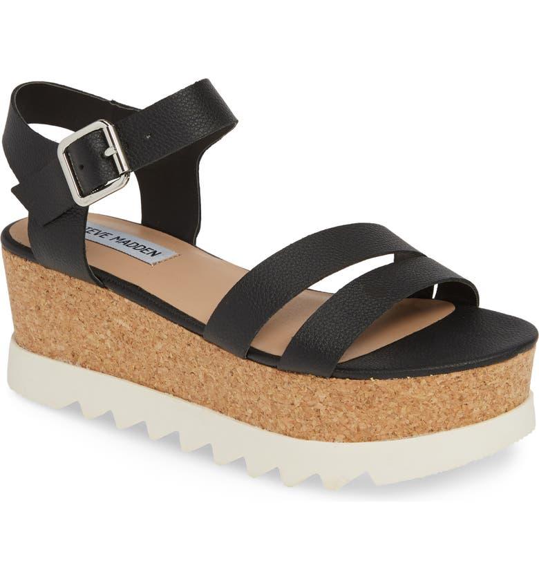 9964079e103 Steve Madden Keykey Platform Wedge Sandal (Women)
