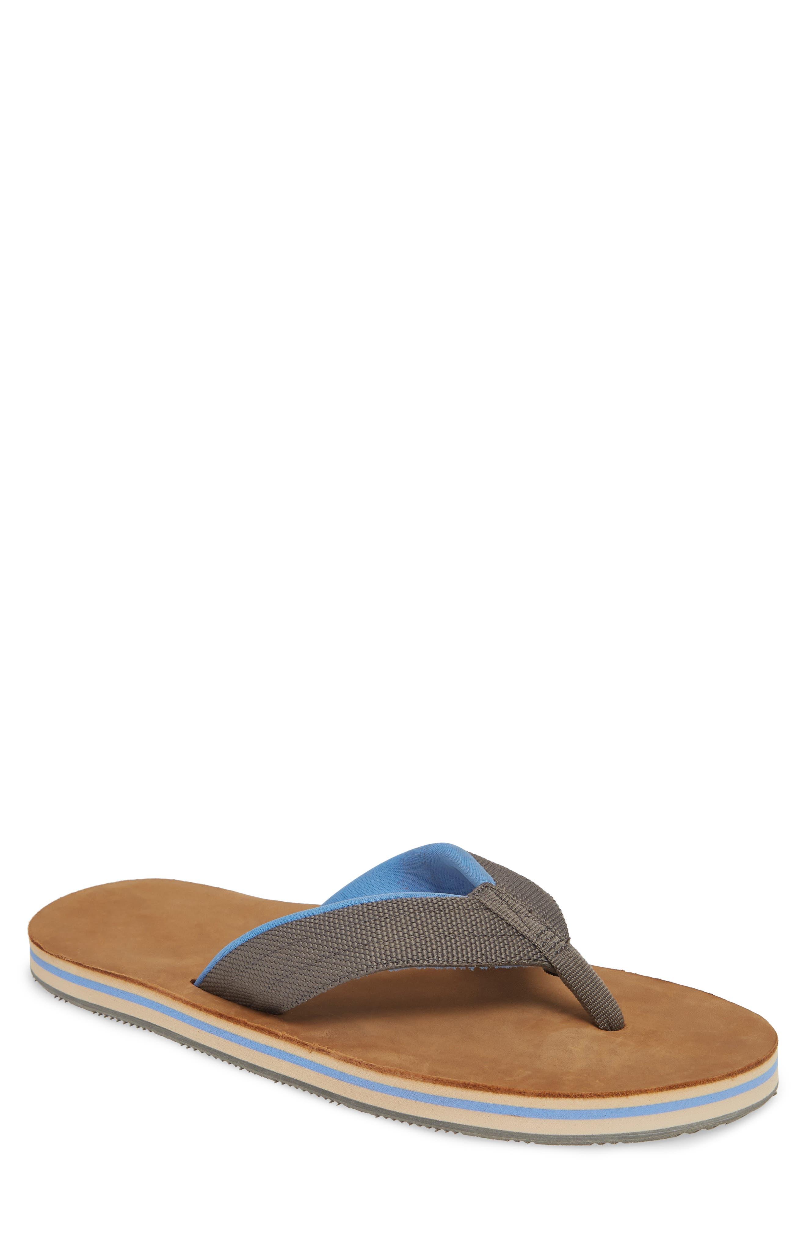 HARI MARI 'Scouts' Flip Flop, Main, color, GRAY/ BLUE
