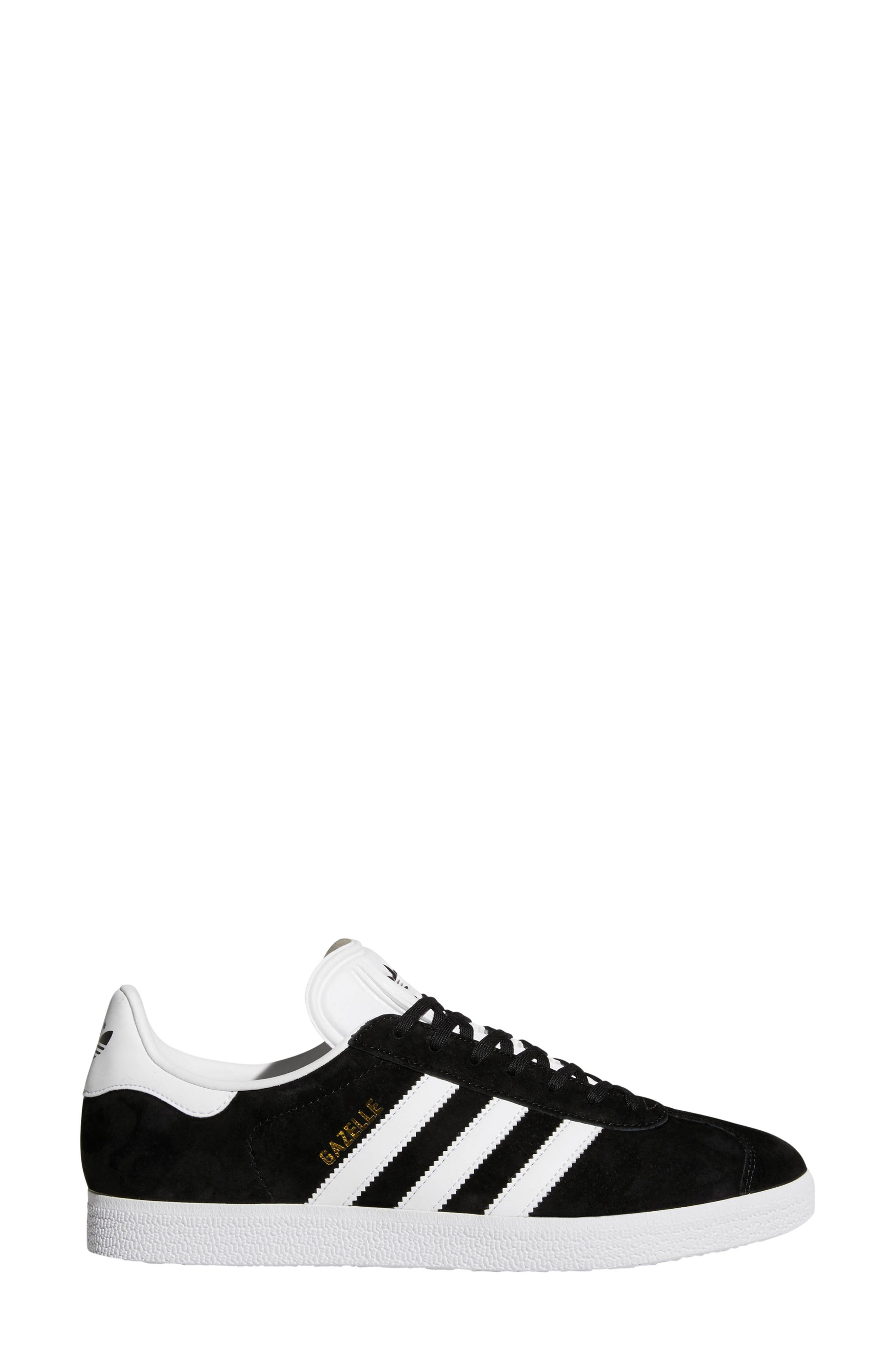 ADIDAS, Gazelle Sneaker, Alternate thumbnail 3, color, 003