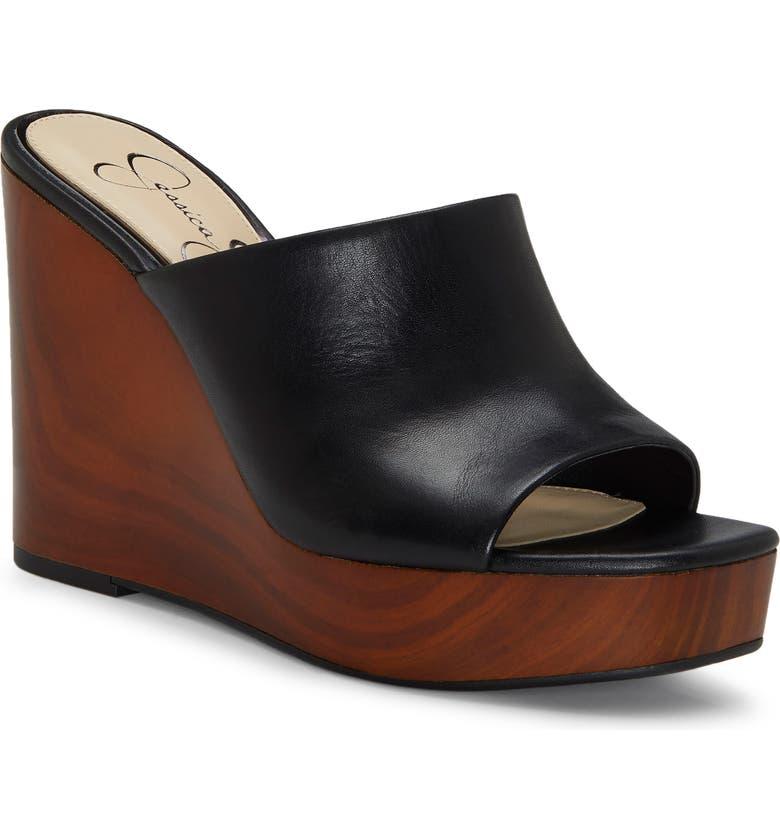 41552162eb72 Jessica Simpson Shantelle Wedge Slide Sandal (Women)
