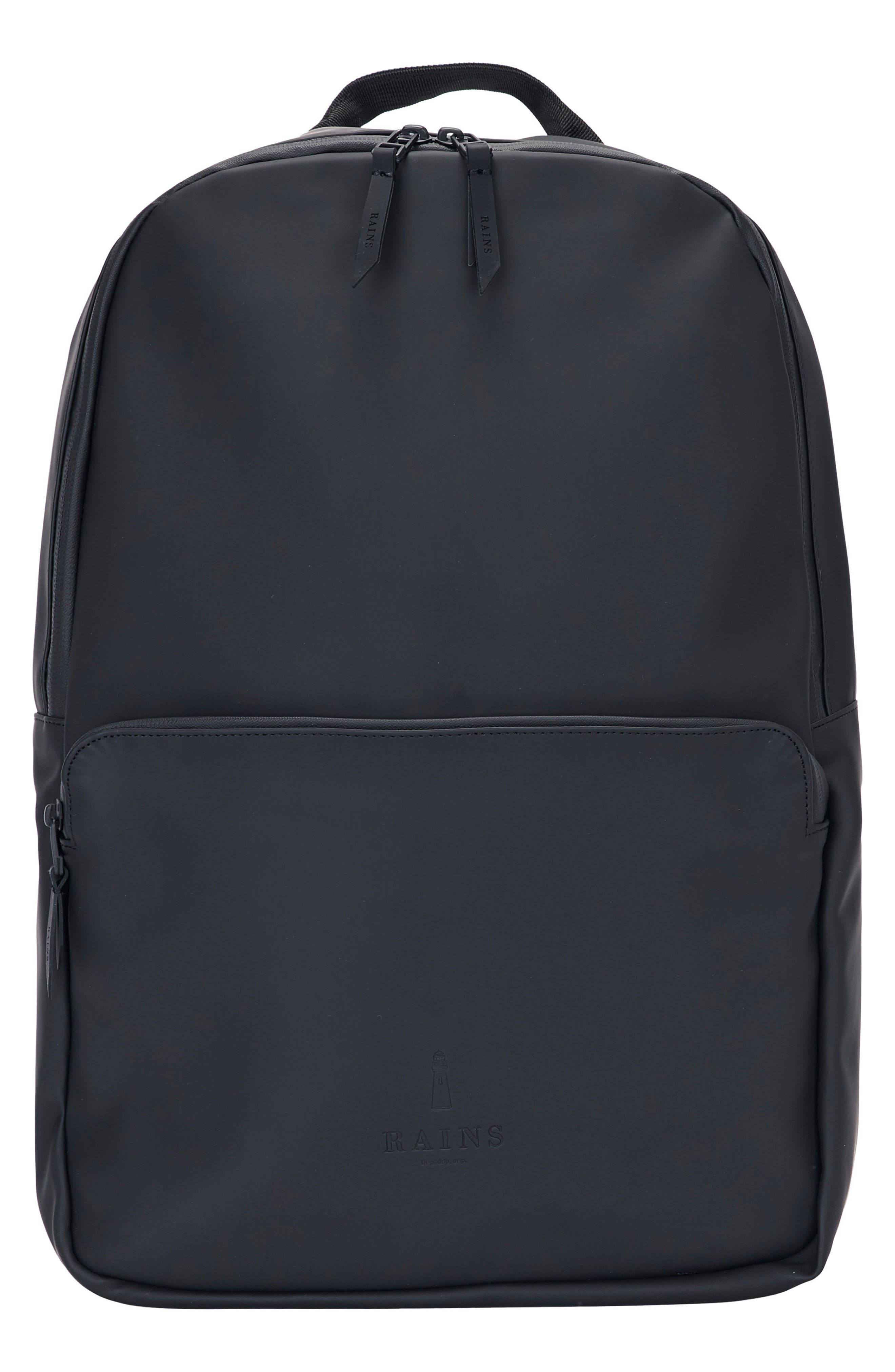 RAINS, Field Backpack, Main thumbnail 1, color, BLACK
