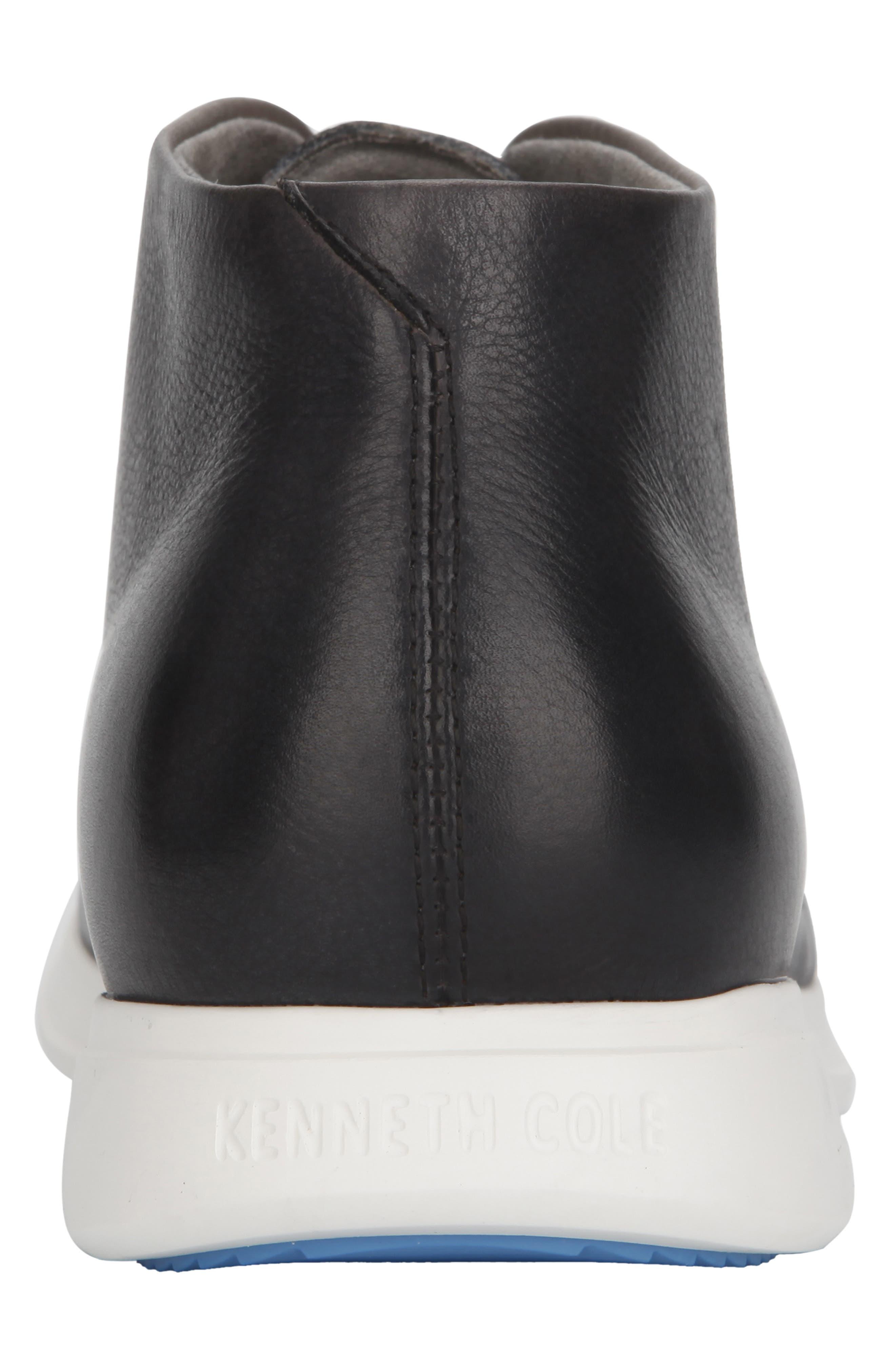 KENNETH COLE NEW YORK, Rocketpod Chukka Sneaker, Alternate thumbnail 5, color, GREY TUMBLED LEATHER