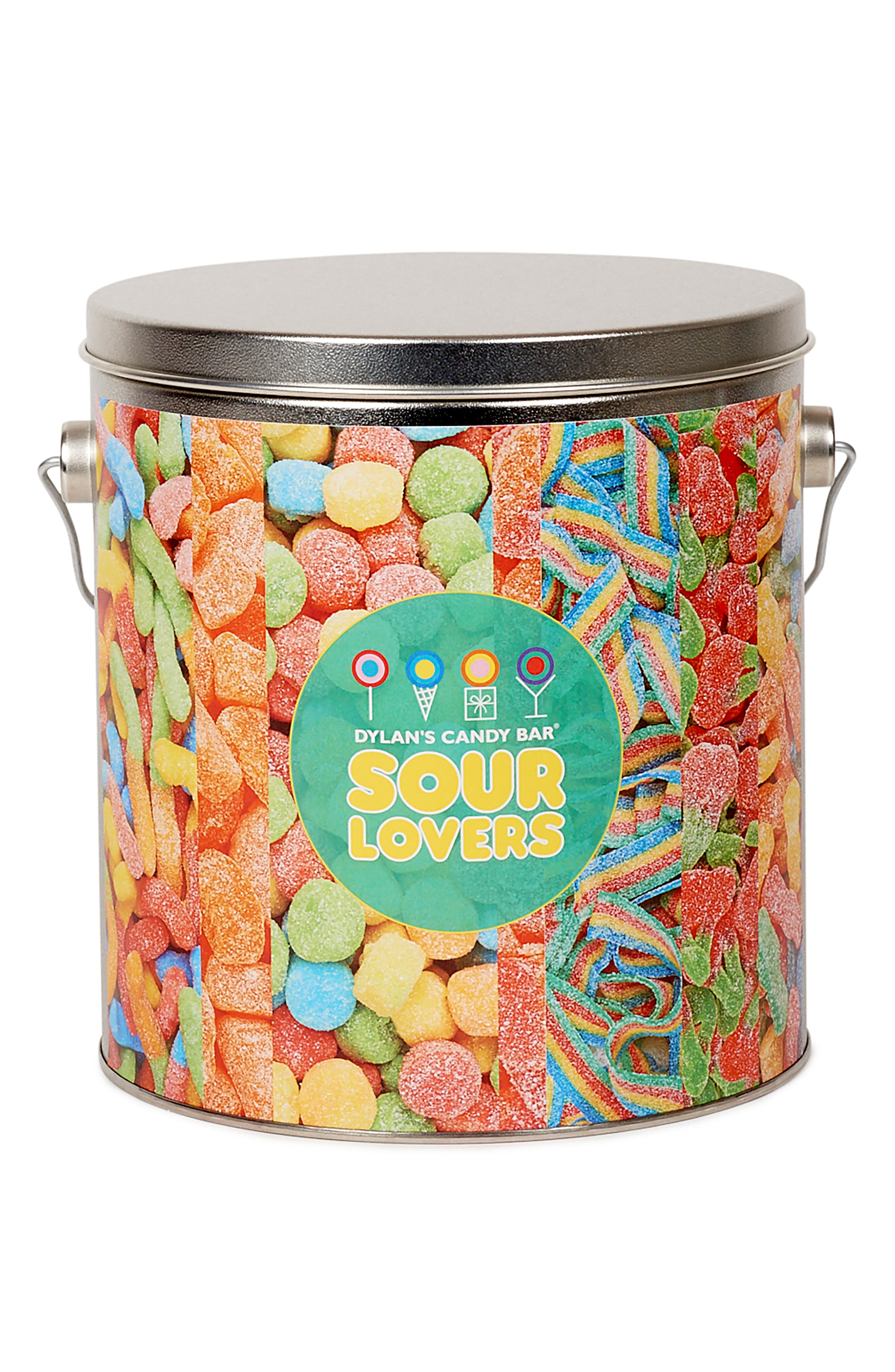 DYLAN'S CANDY BAR, Sour Lovers Bucket, Alternate thumbnail 3, color, MULTI