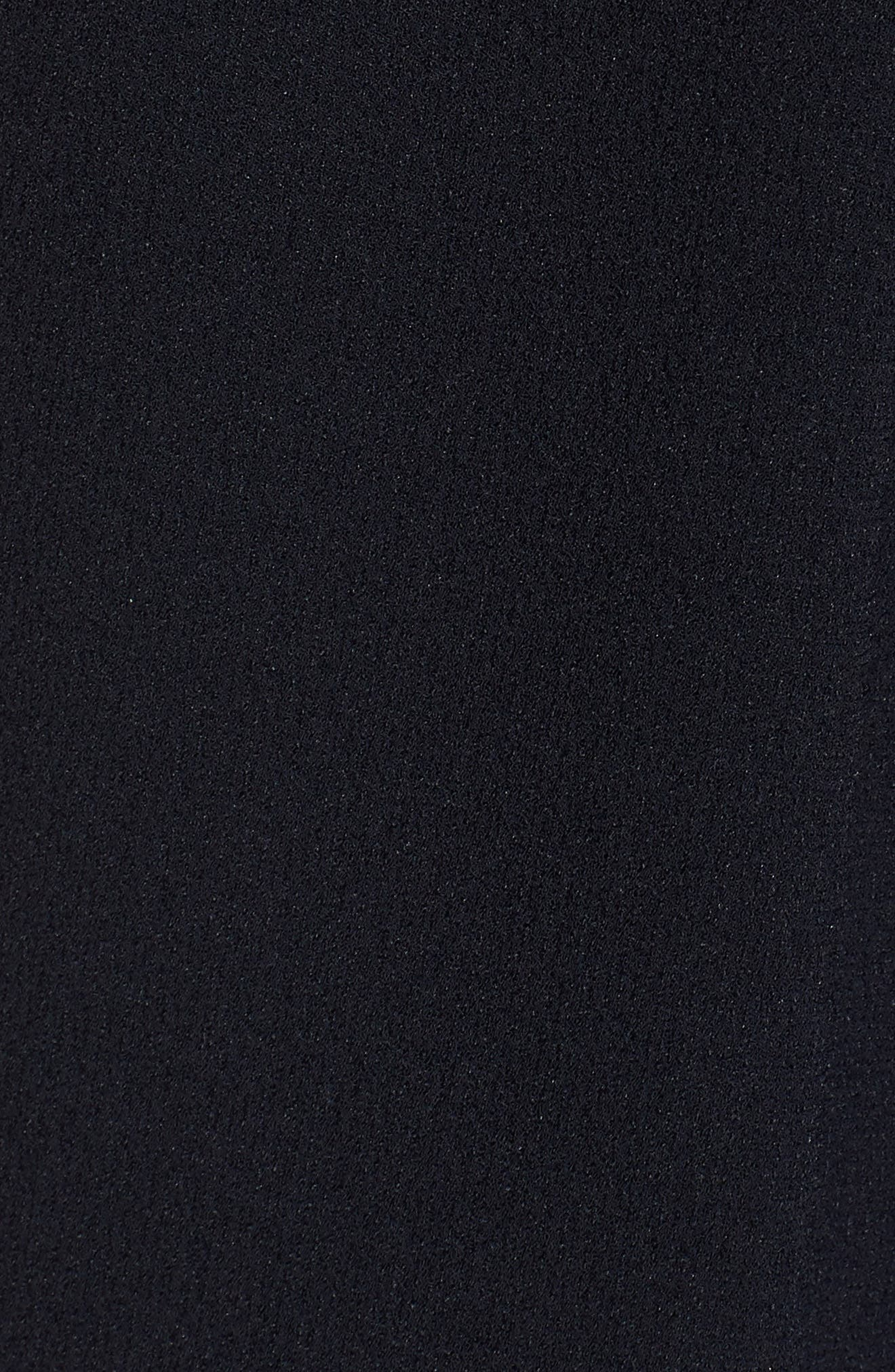 ASTR THE LABEL, ASTR V-Neck Crepe Shift Dress, Alternate thumbnail 6, color, 400