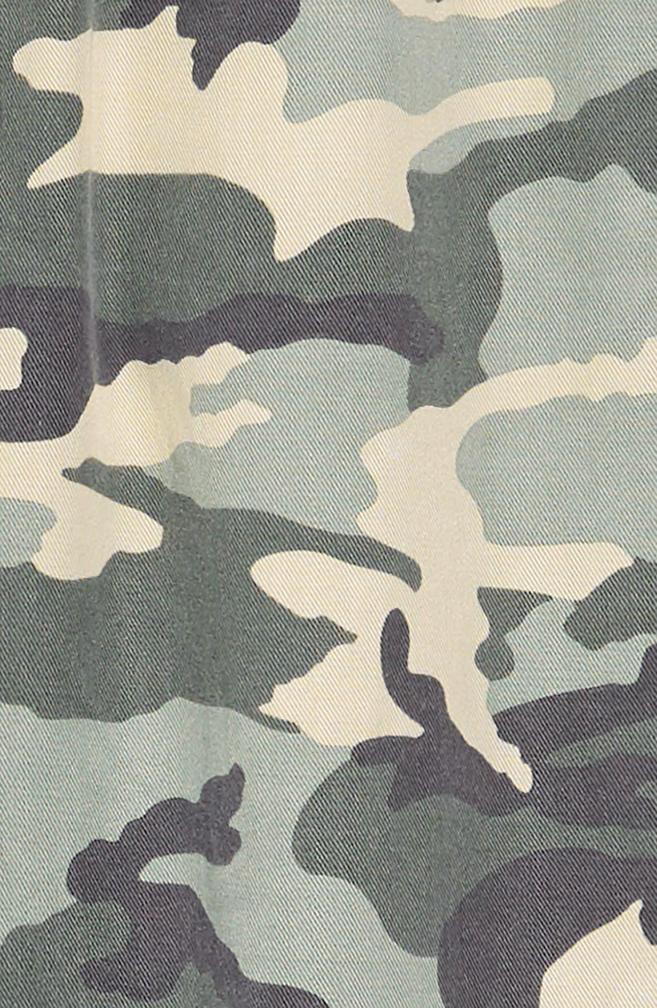 TRACTR, Camo Print Jogger Pants, Alternate thumbnail 2, color, GREEN CAMO