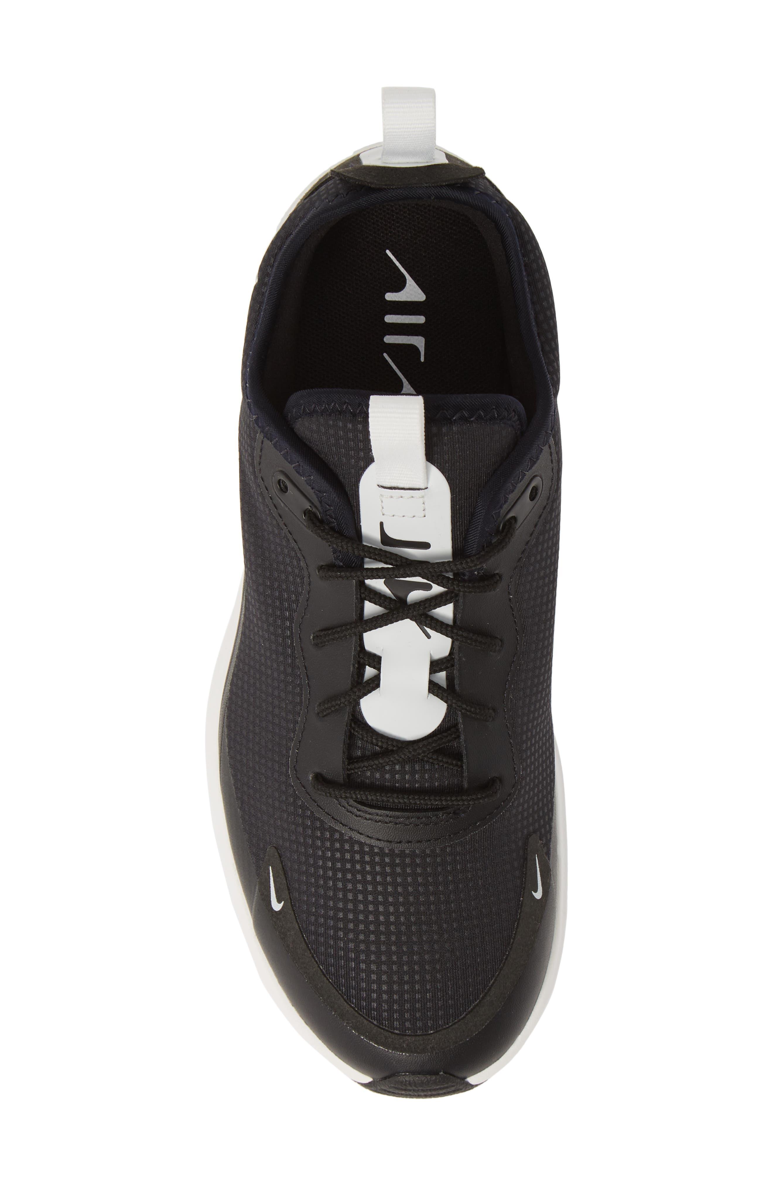 NIKE, Air Max Dia Sneaker, Alternate thumbnail 5, color, BLACK/ SUMMIT WHITE