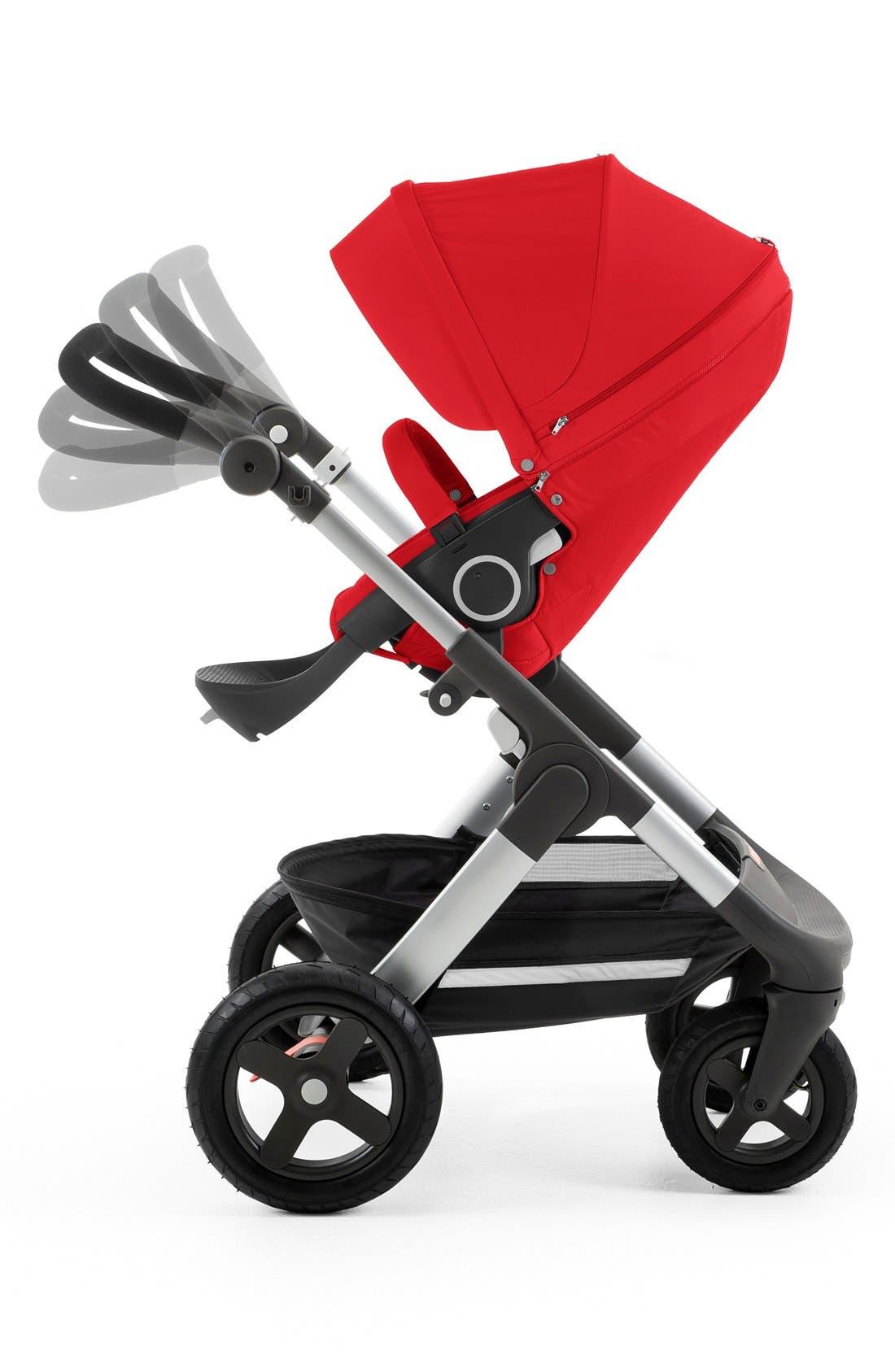 STOKKE, Trailz<sup>™</sup> All Terrain Stroller, Alternate thumbnail 5, color, RED