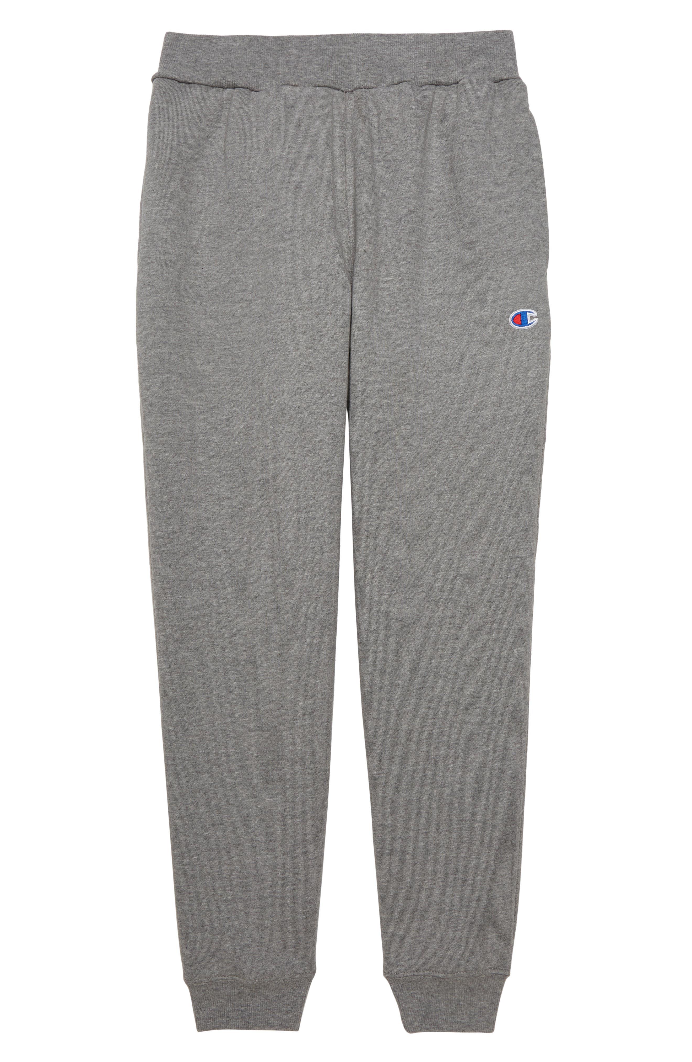 CHAMPION Reverse Weave Jogger Pants, Main, color, OXFORD HEATHER